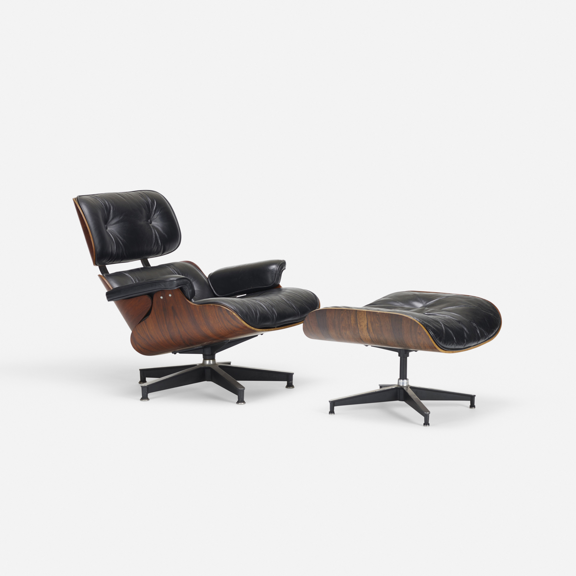 251: Charles and Ray Eames / 670 lounge chair and 671 ottoman (2 of 2)
