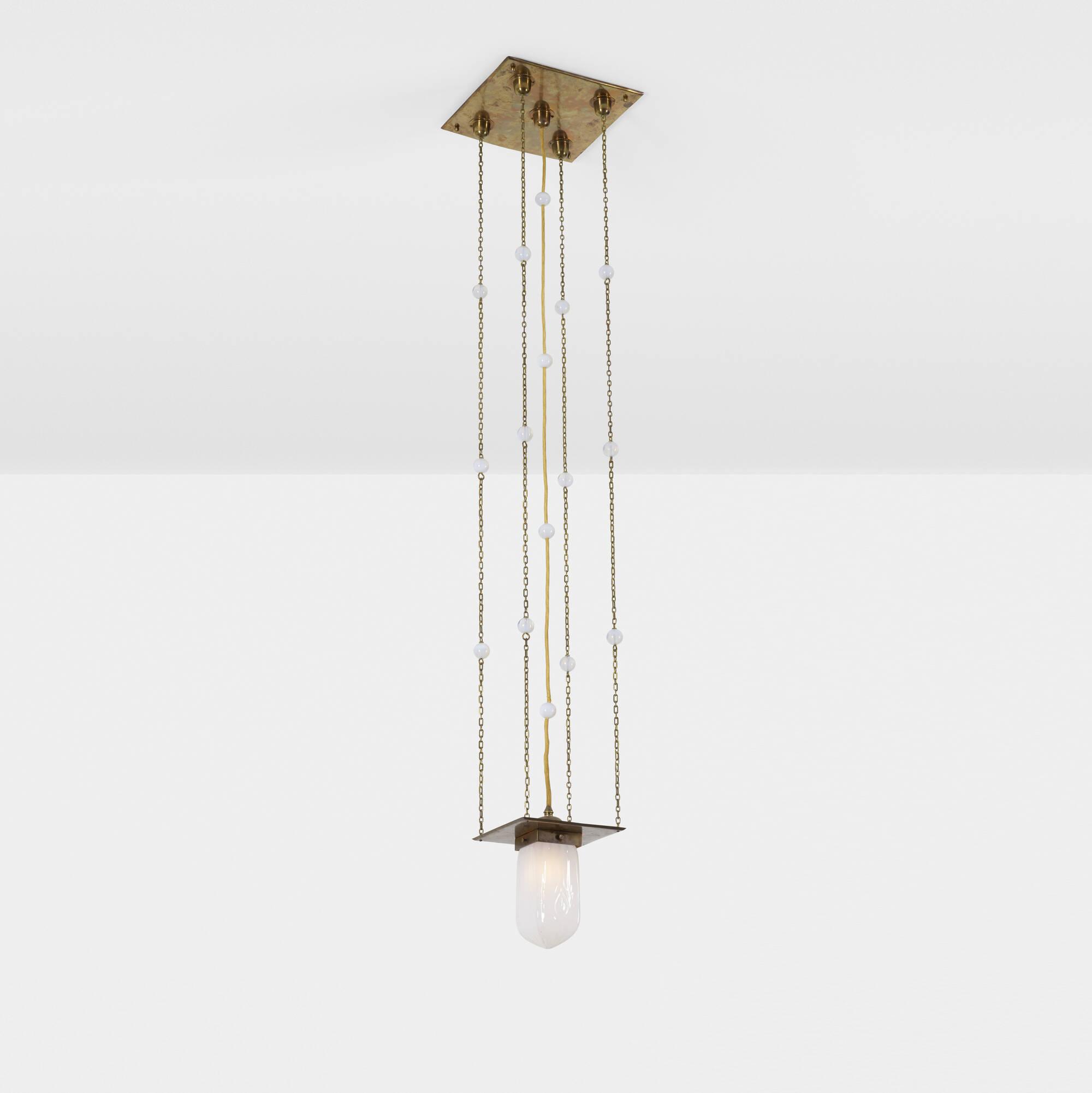 252: Koloman Moser, attribution / ceiling light (1 of 1)