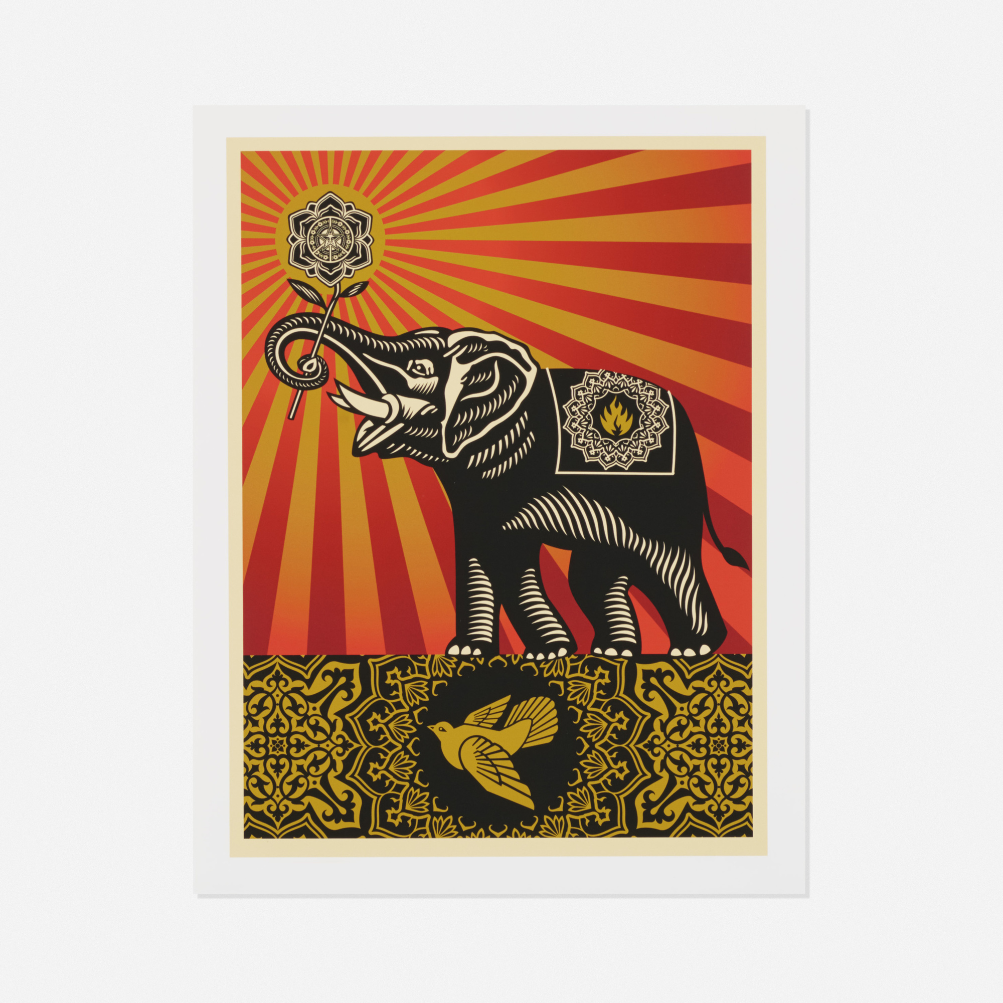 252: SHEPARD FAIREY, Peace Elephant