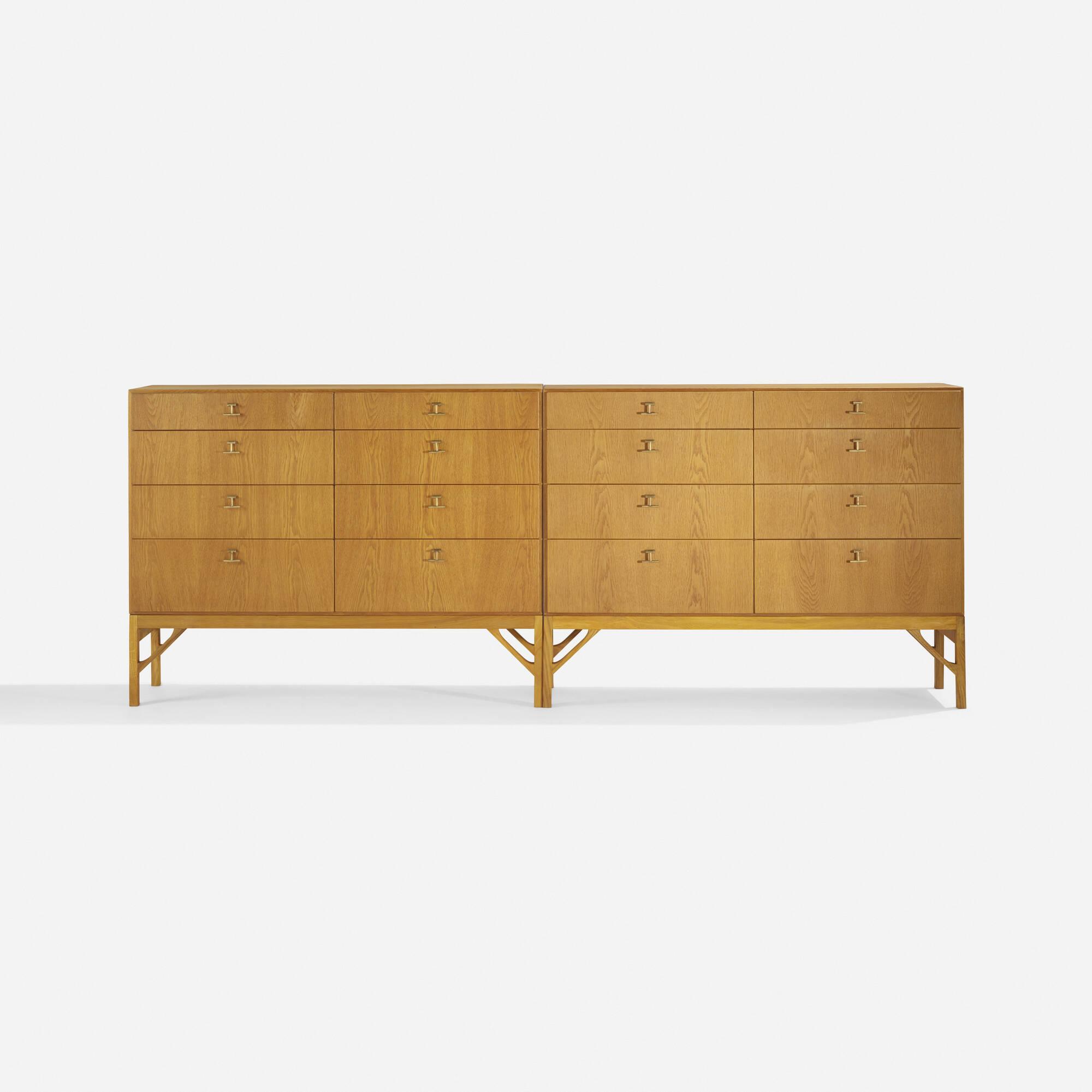 252: Børge Mogensen / cabinets, pair (1 of 4)