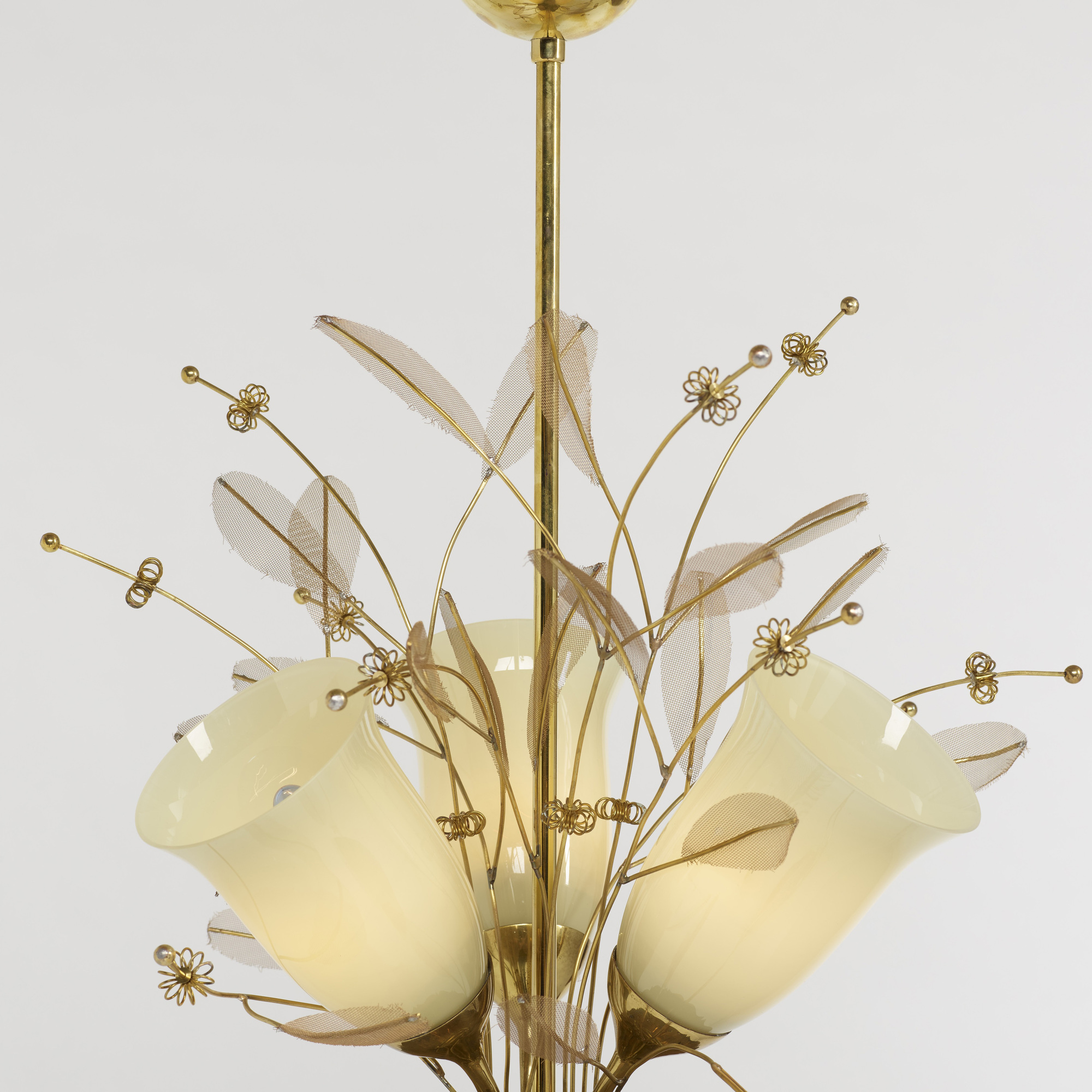 252: Paavo Tynell / chandelier, model 9029/3 (2 of 2)