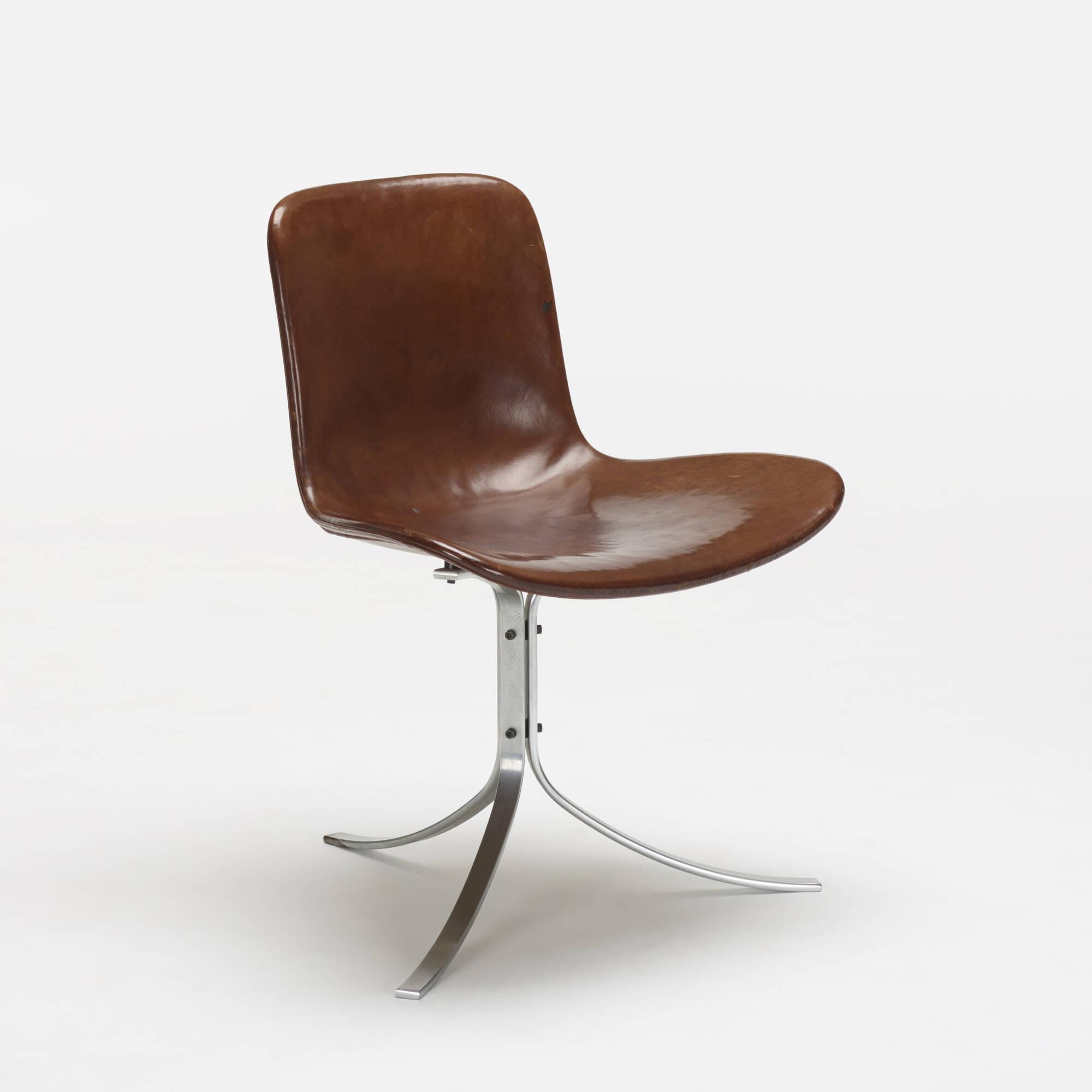 ... 252: Poul Kjaerholm / PK 9 Chairs, Set Of Six (3 Of 4