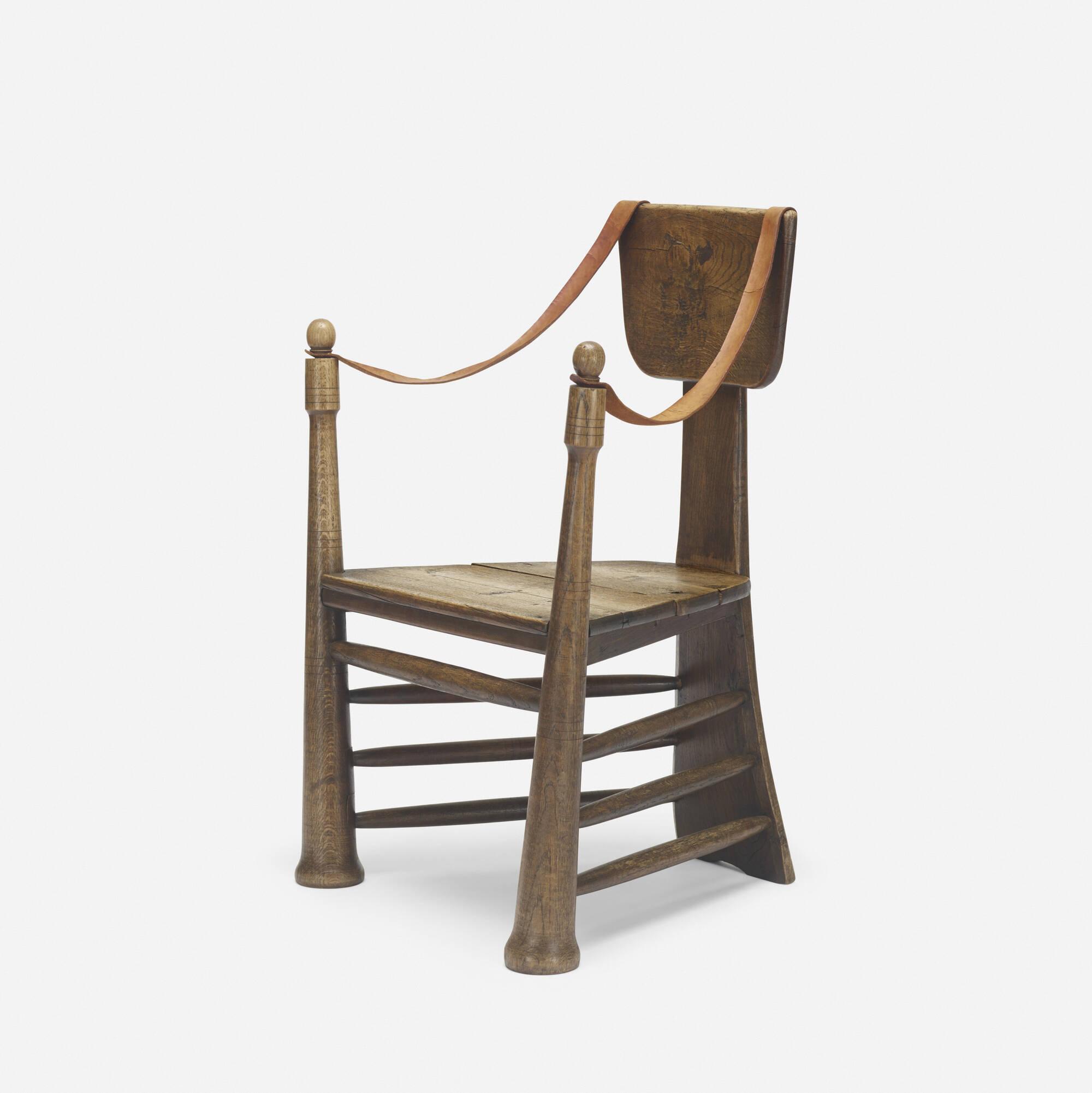 253: Pierre Cuypers / rare garden chair for Castle De Haar (1 of 4)