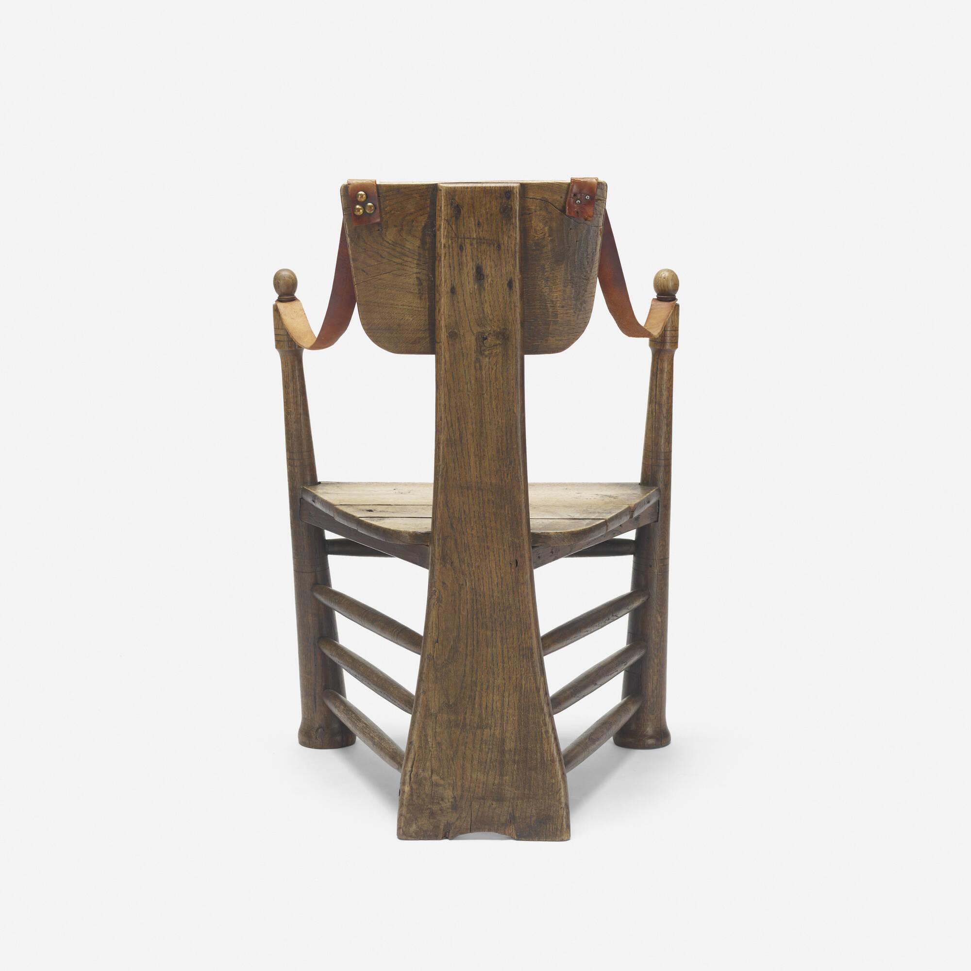 253: Pierre Cuypers / rare garden chair for Castle De Haar (2 of 4)