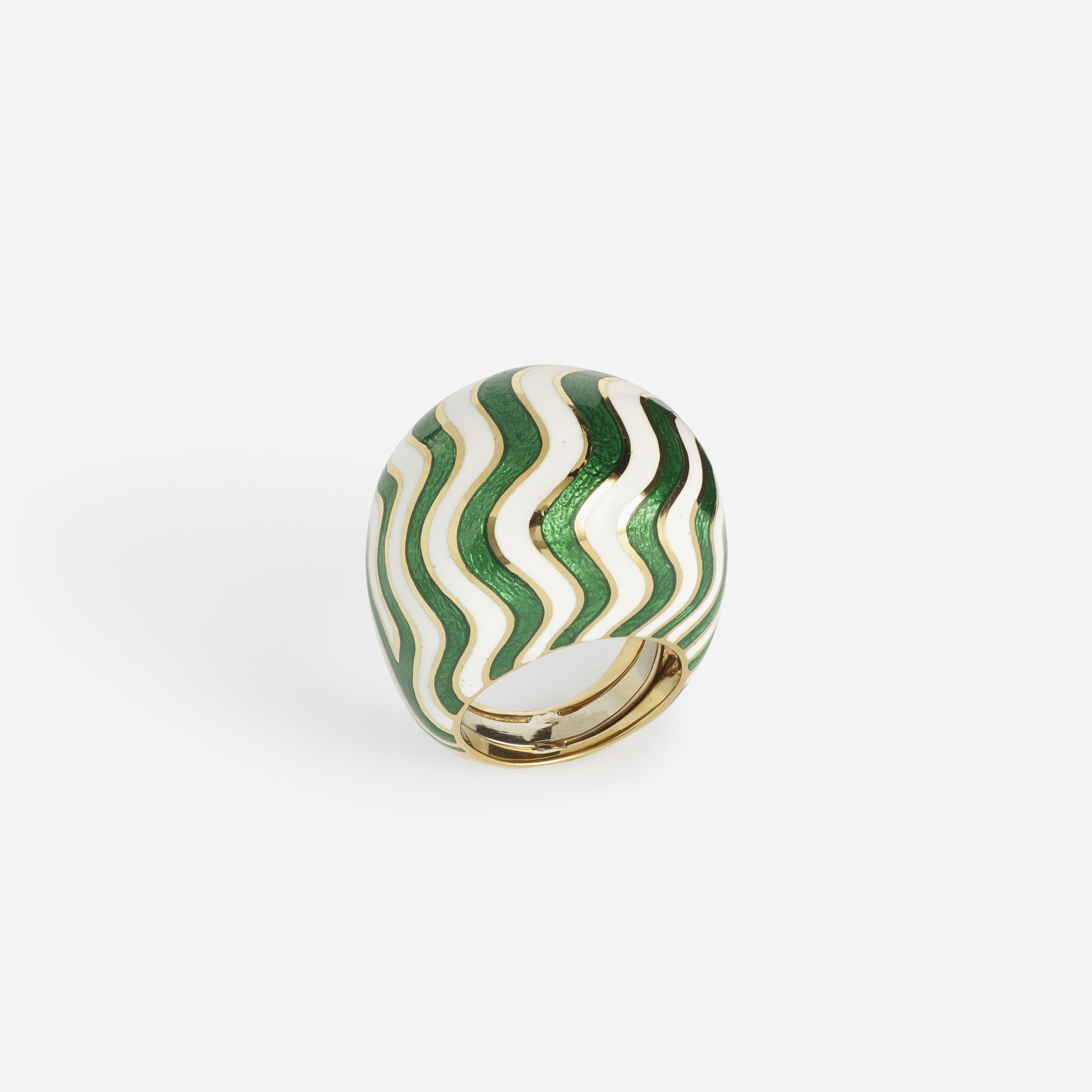 253: David Webb / A gold and enameled ring (2 of 2)