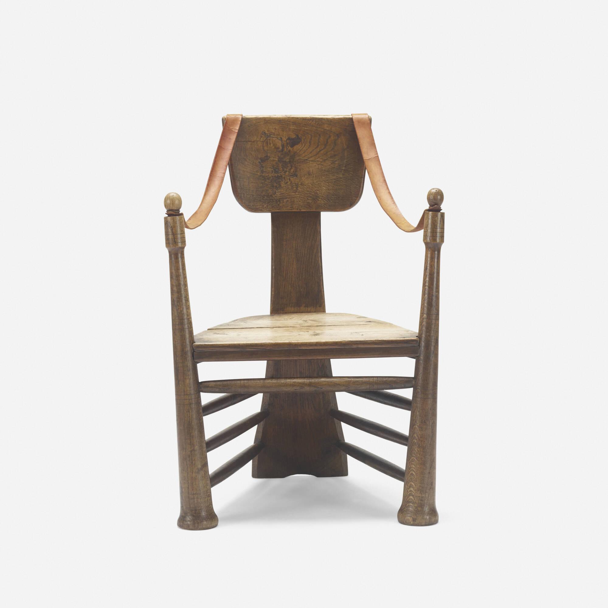 253: Pierre Cuypers / rare garden chair for Castle De Haar (3 of 4)