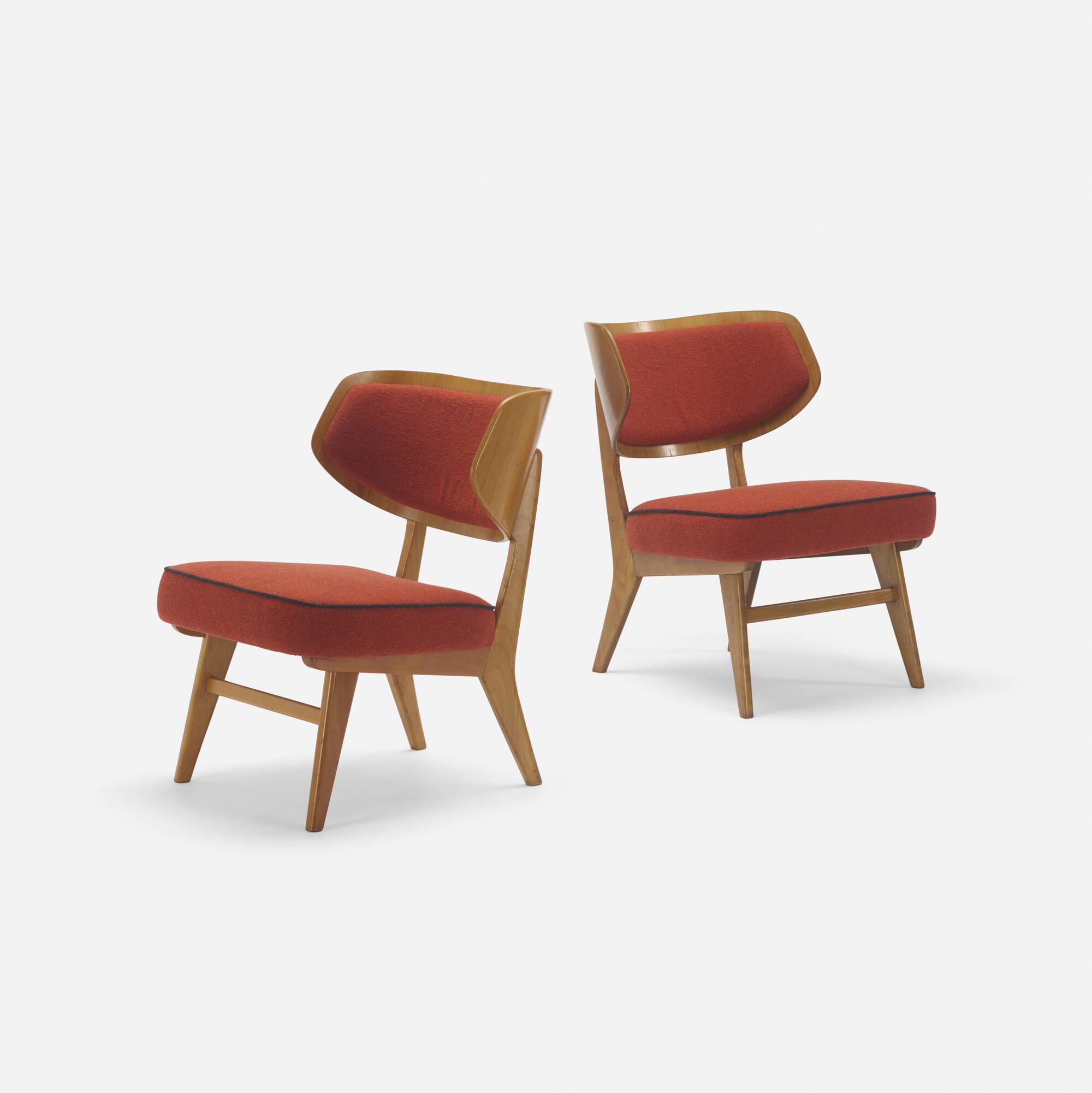 254: Herta-Maria Witzemann / lounge chairs, pair (1 of 3)
