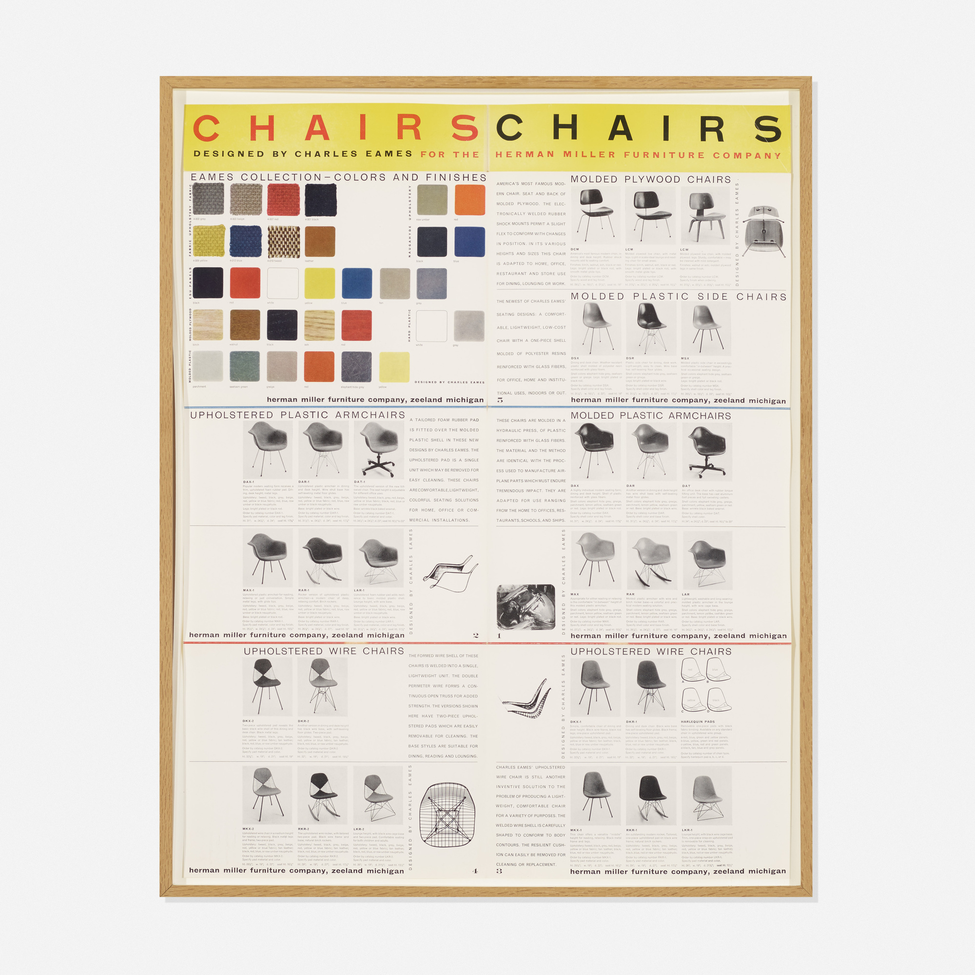 254: Charles and Ray Eames / manufacturer's poster (1 of 1)