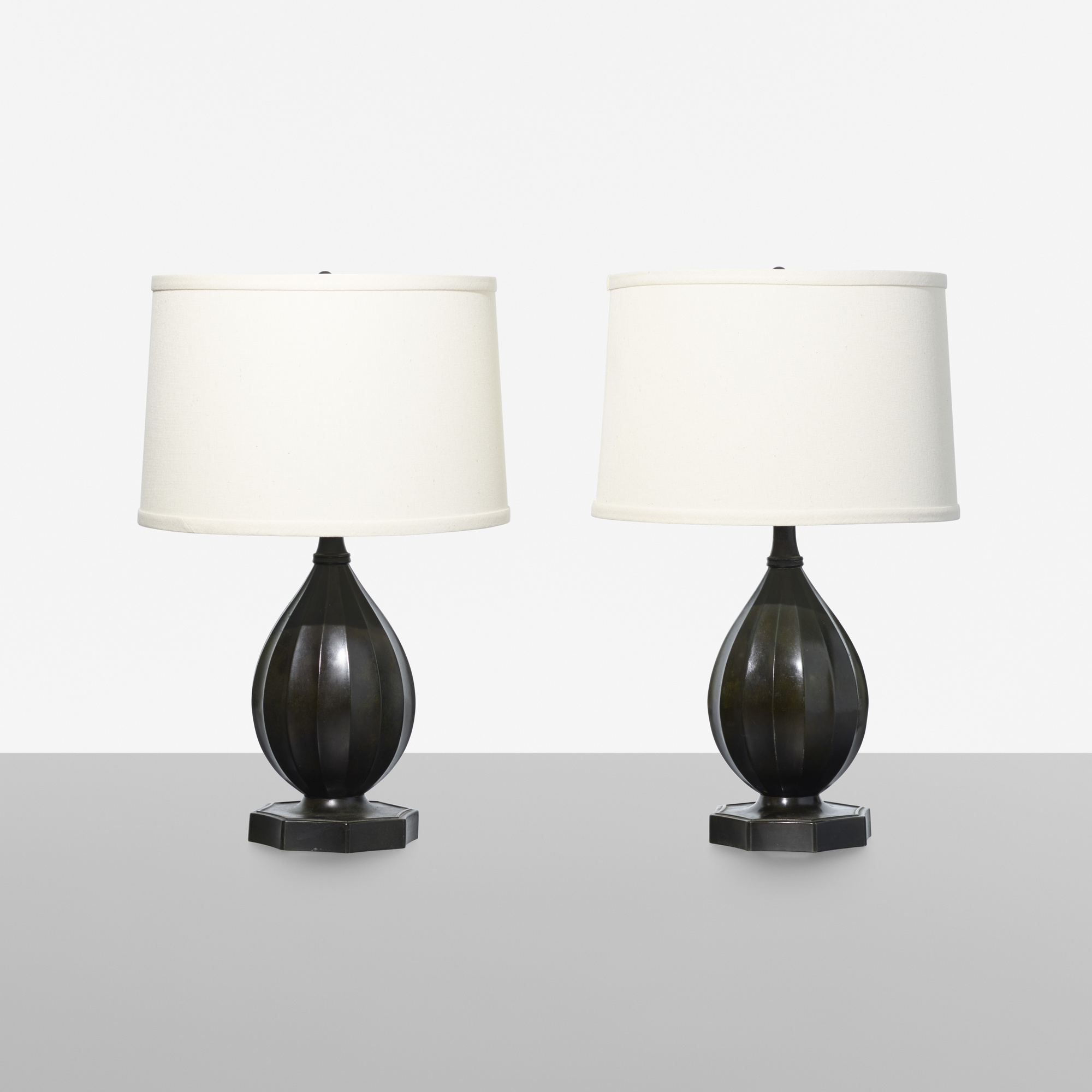 254: Just Andersen / table lamps, pair (1 of 1)