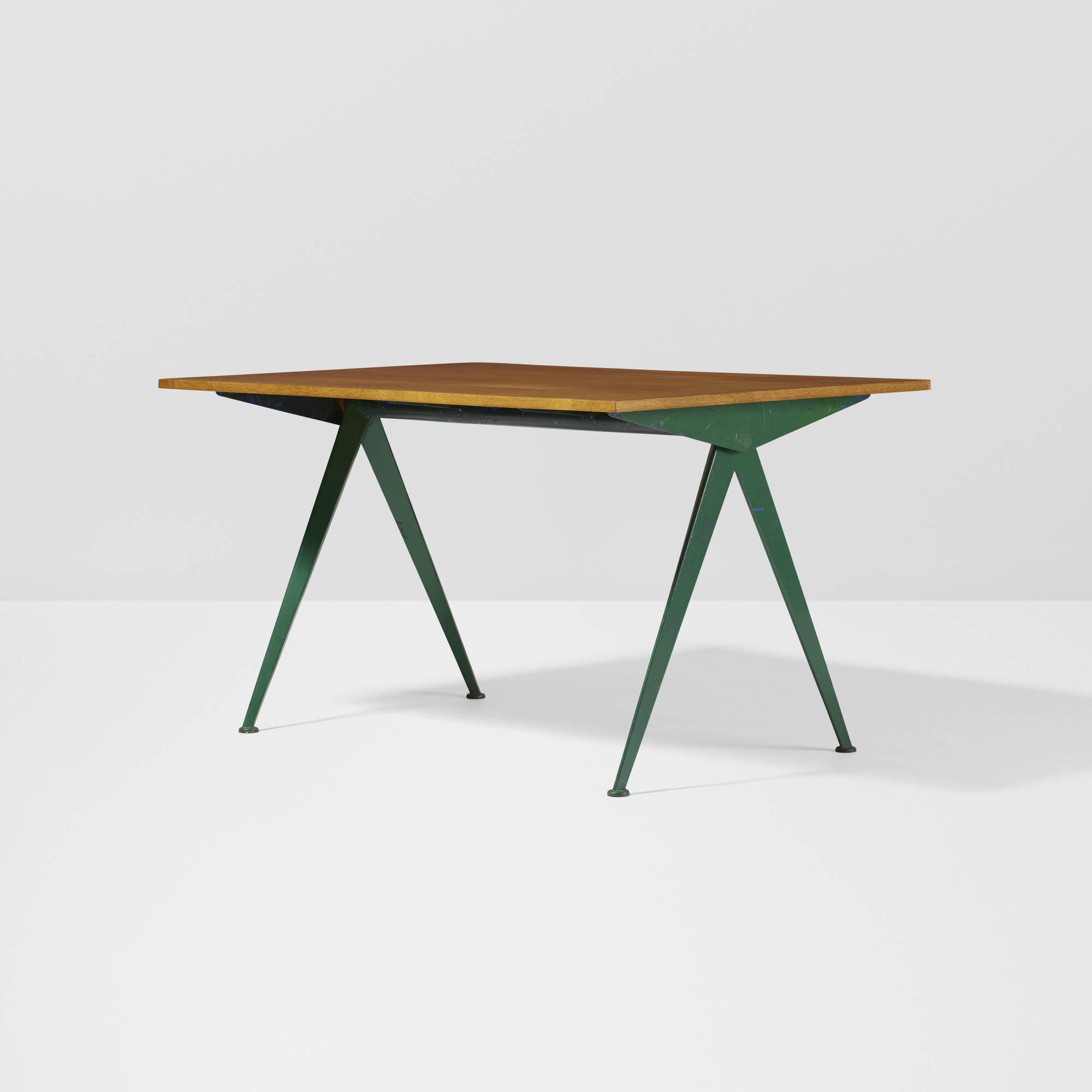 Très 254: Jean Prouvé / Compas table < The Design Collection of Dimitri  DI09