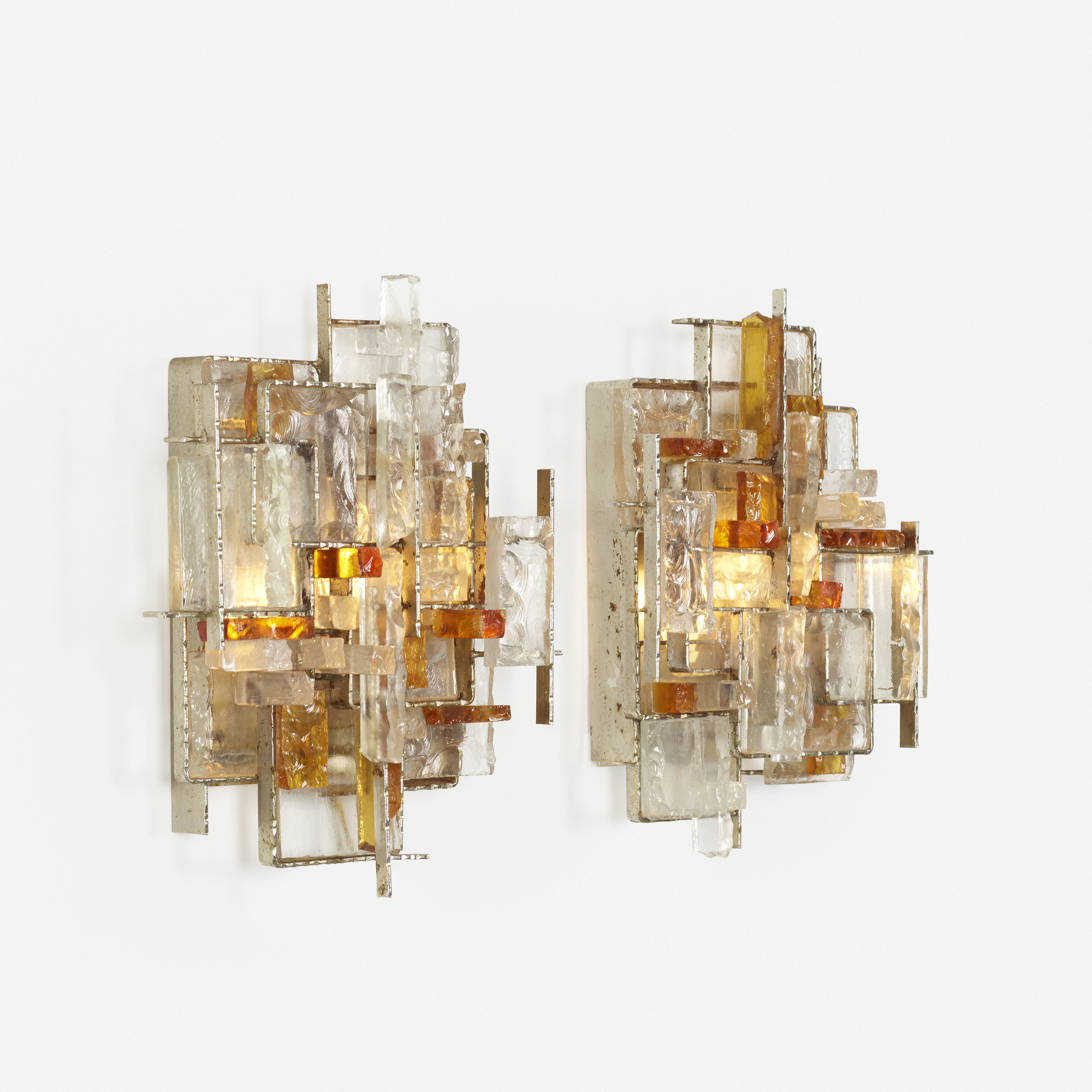 254: Poliarte / wall lights, pair (2 of 4)