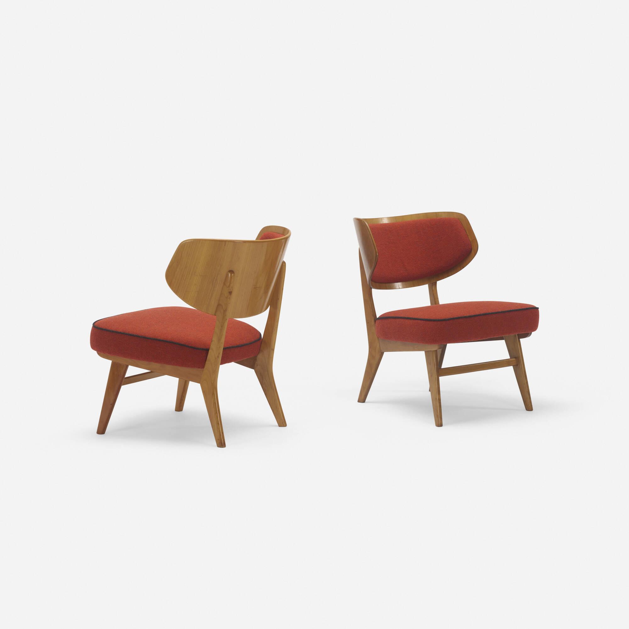 254: Herta-Maria Witzemann / lounge chairs, pair (2 of 3)