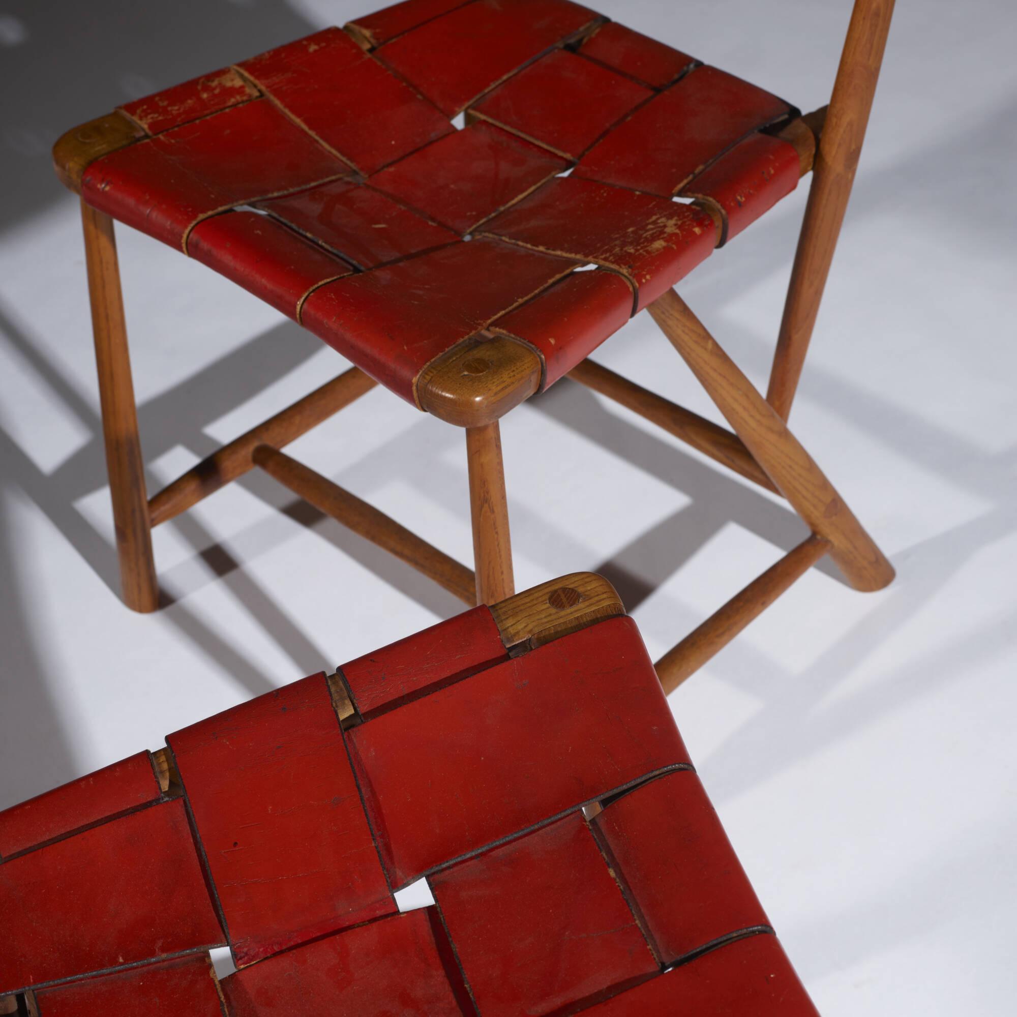 254: Wharton Esherick / Hammer Handle chairs, pair (3 of 4)