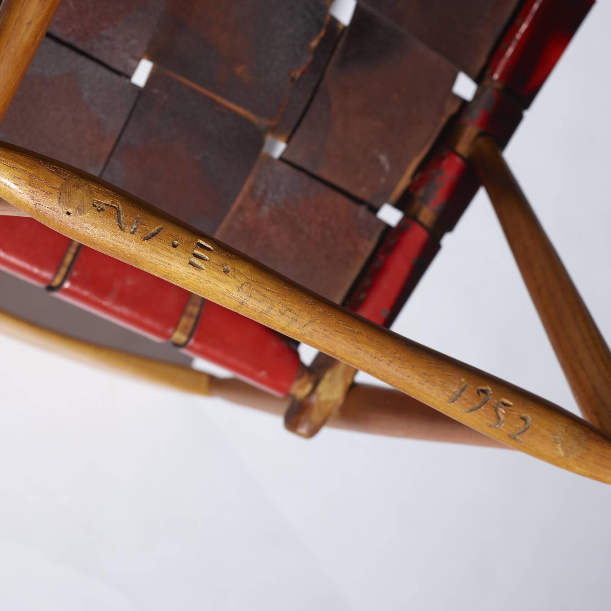 254: Wharton Esherick / Hammer Handle chairs, pair (4 of 4)