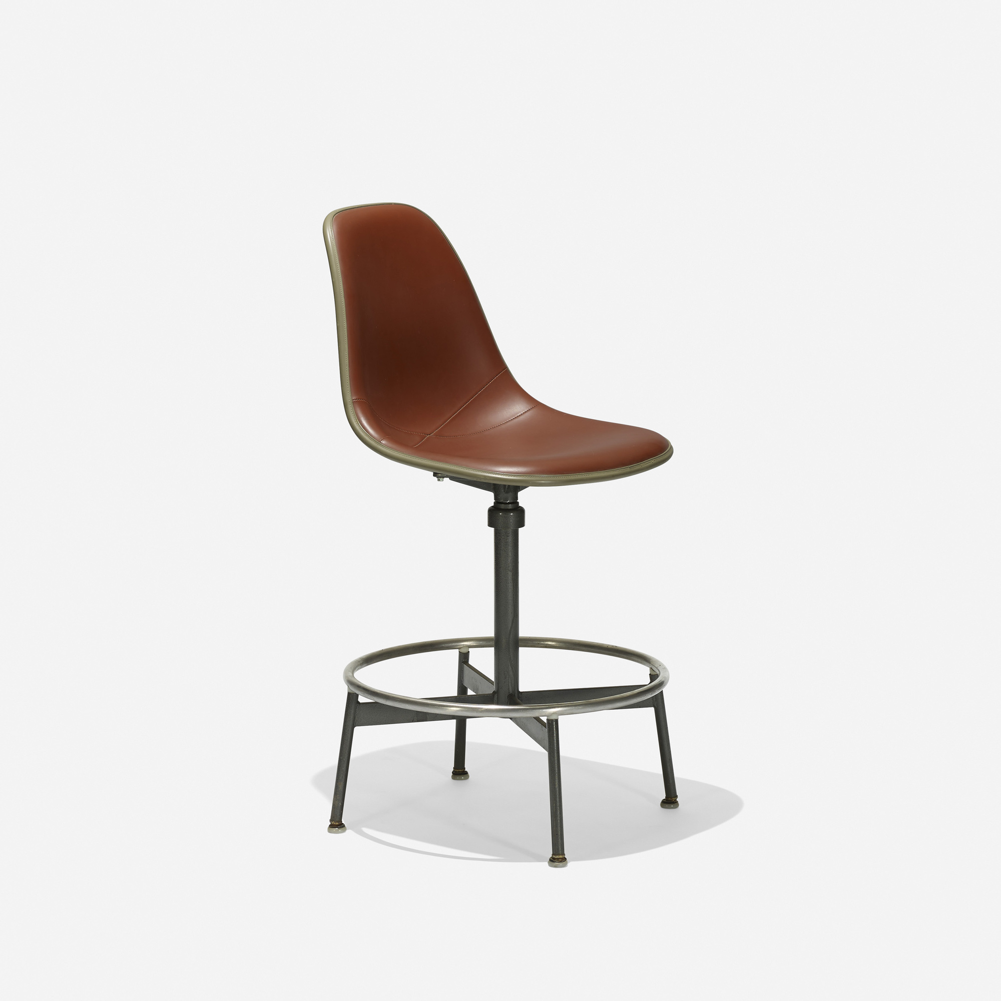 255 Charles and Ray Eames / Drafting chair model 622TS-1 (1 & 255: CHARLES AND RAY EAMES Drafting chair model 622TS-1 u003c Eames ...