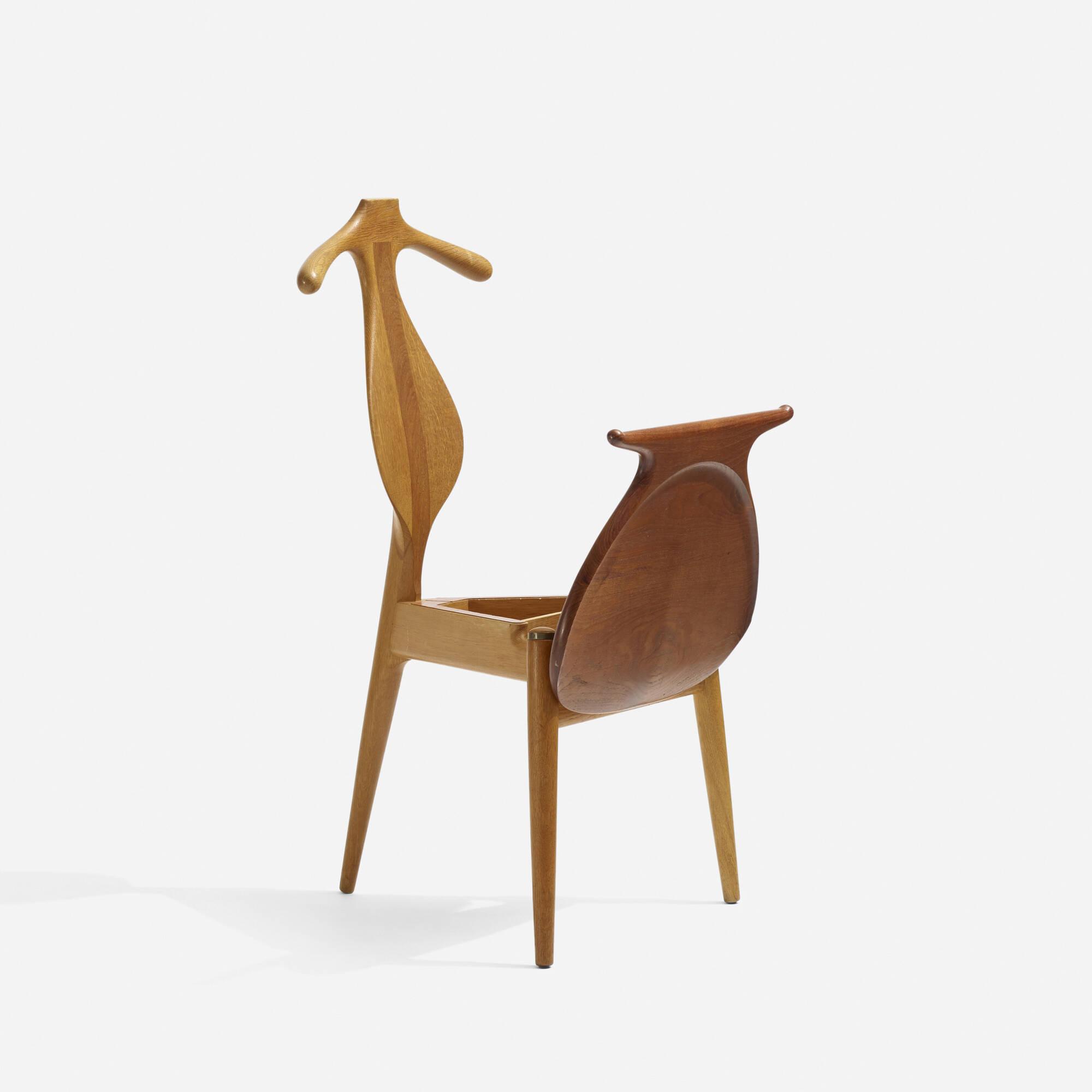 255 Hans J Wegner Valet chair Scandinavian Design 5 May