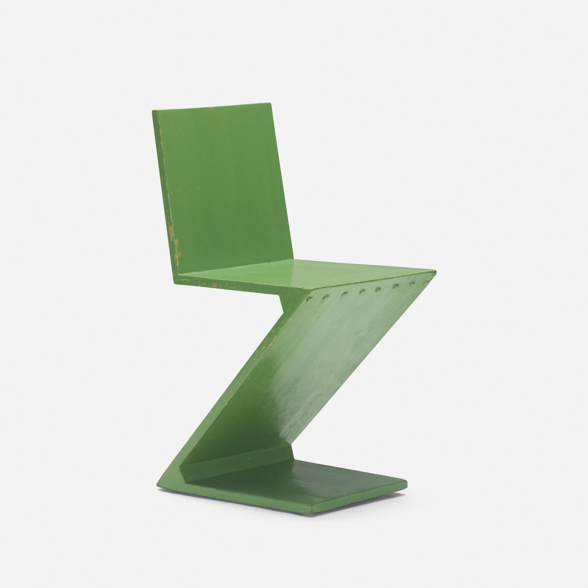 256: Gerrit Rietveld / Zig Zag chair (1 of 3)