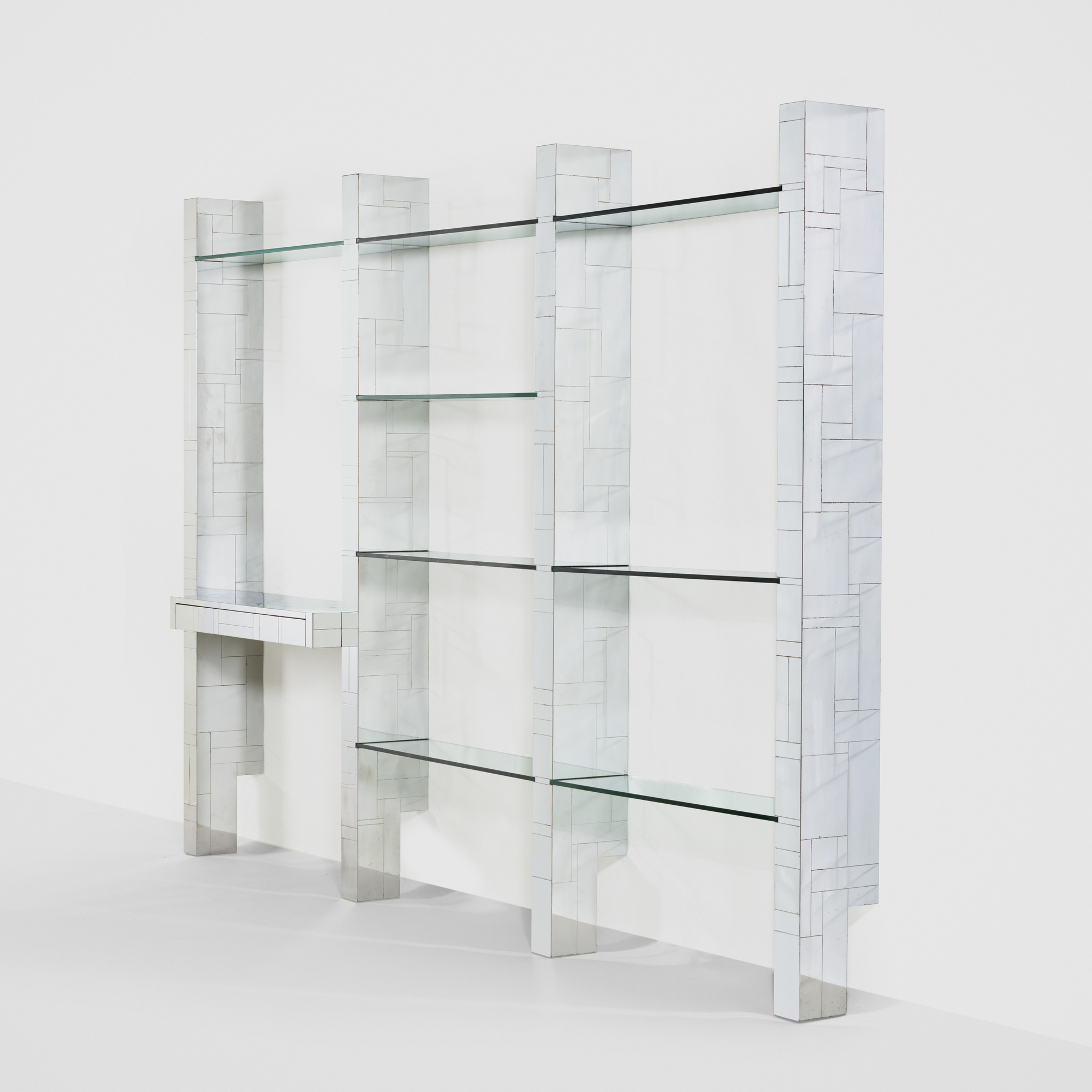 256: Paul Evans / Cityscape wall-mounted bookshelf (1 of 1)