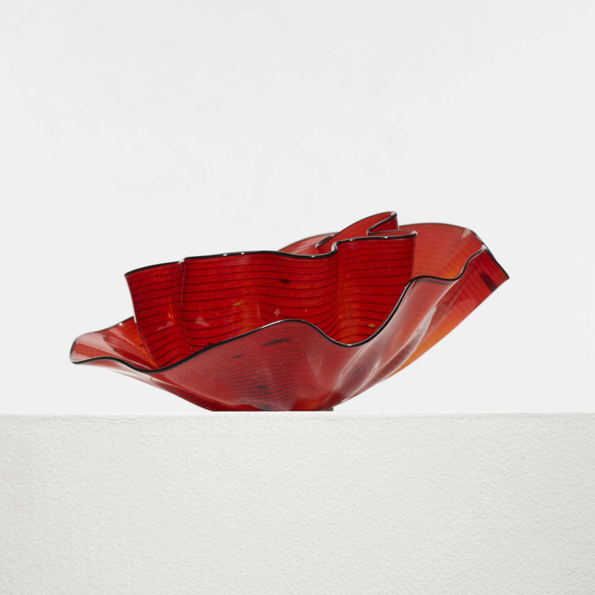 256: Dale Chihuly / Roman Red Seaform Set (2 of 4)