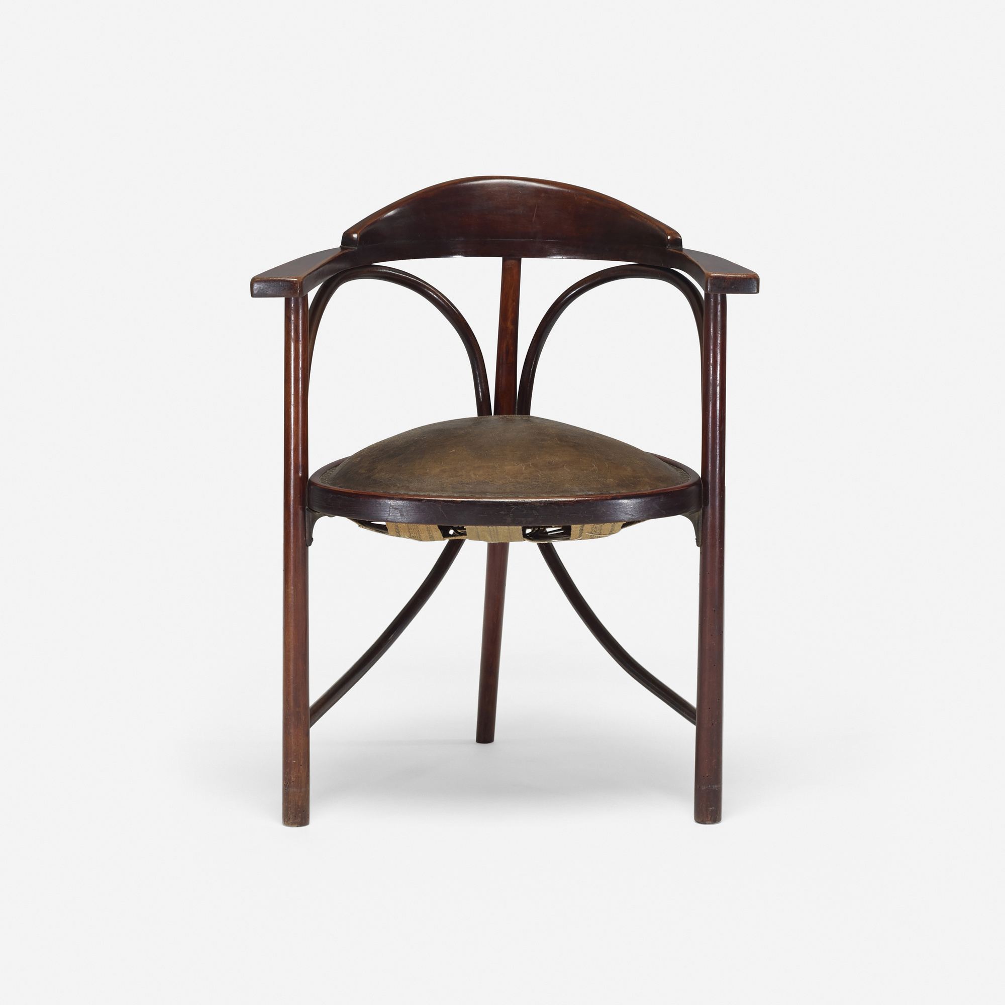 Charmant ... 256: Thonet / Three Legged Chair, Model No. 81 (2 Of