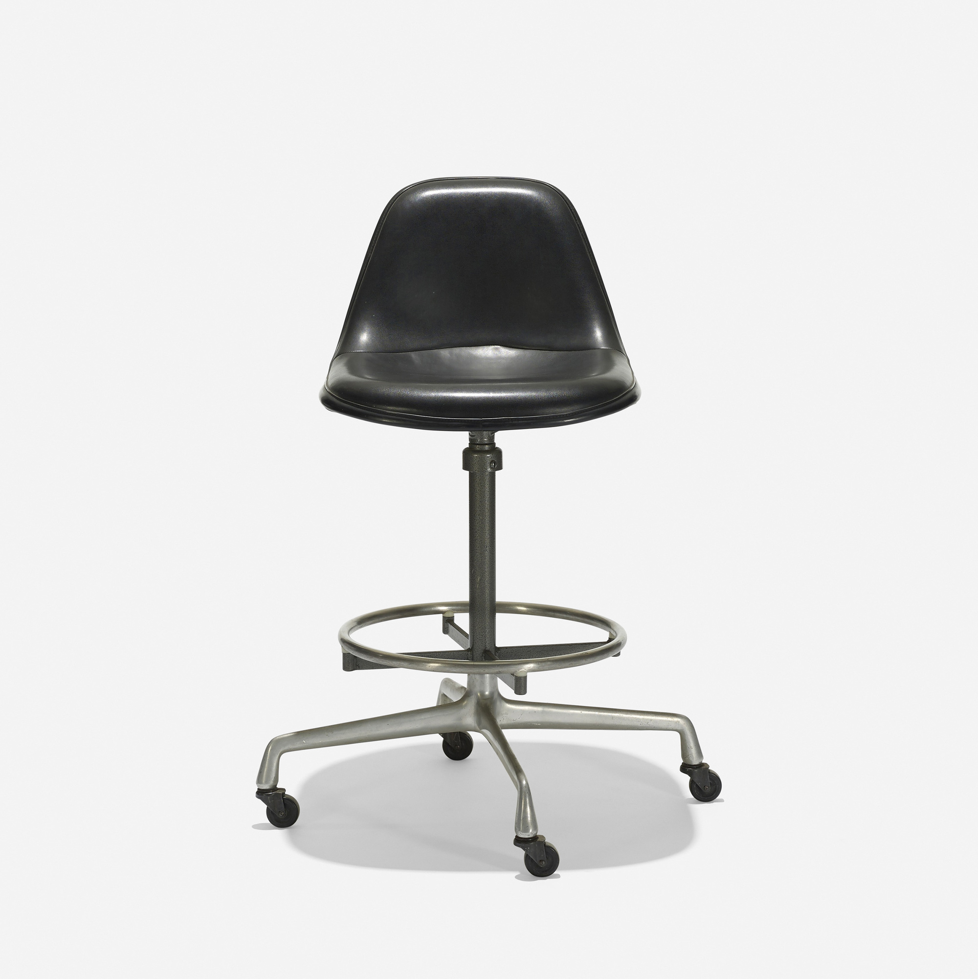 ... 256 Charles and Ray Eames / Drafting chair model EC125 (2 of 3 & 256: CHARLES AND RAY EAMES Drafting chair model EC125 u003c Eames ...