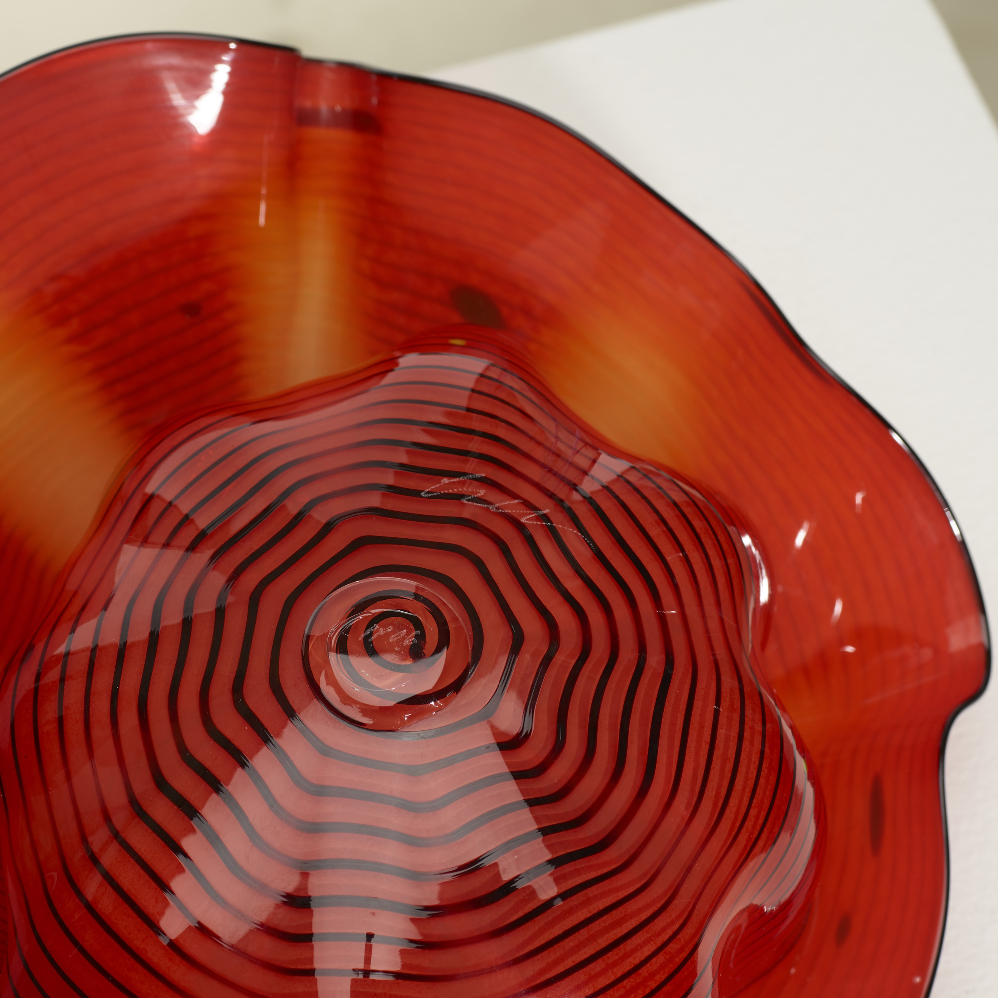 256: Dale Chihuly / Roman Red Seaform Set (4 of 4)
