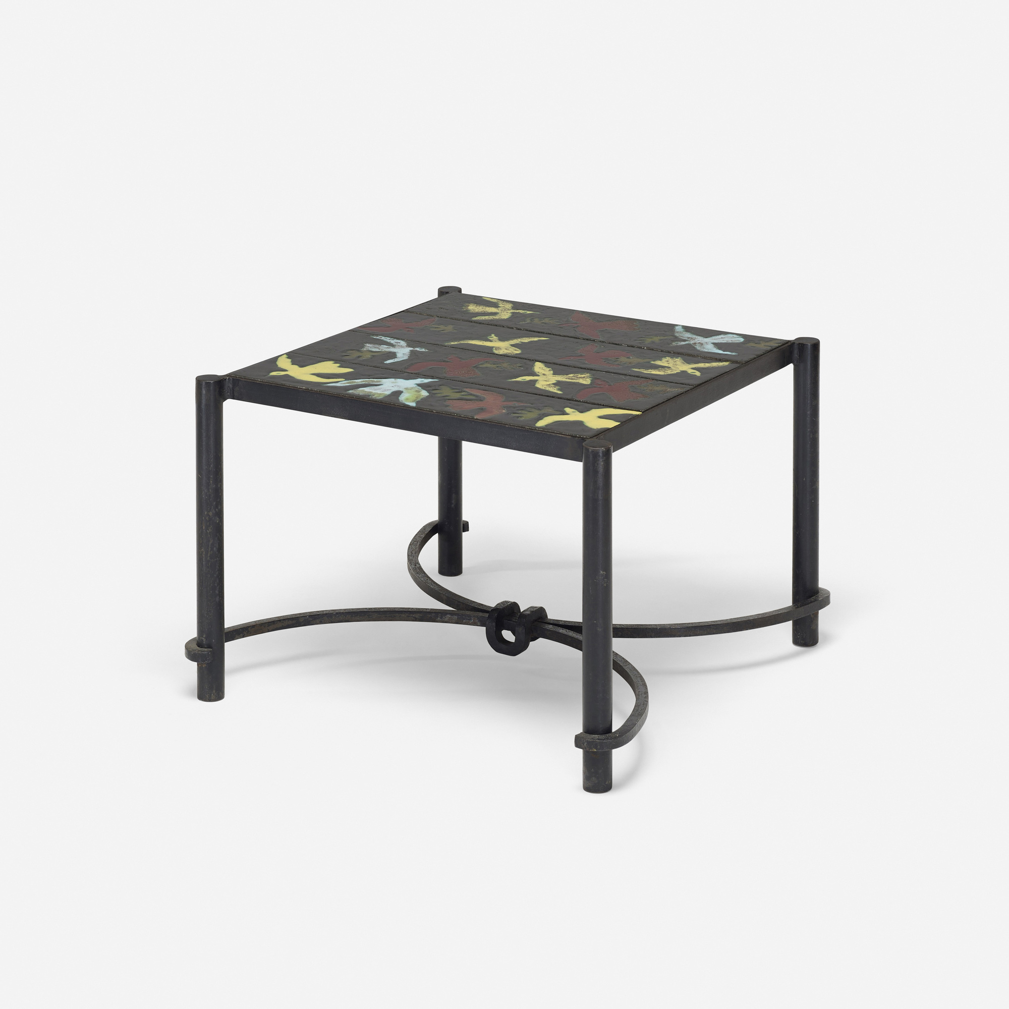 257: Jacques Adnet and Guidette Carbonell / occasional table (1 of 2)
