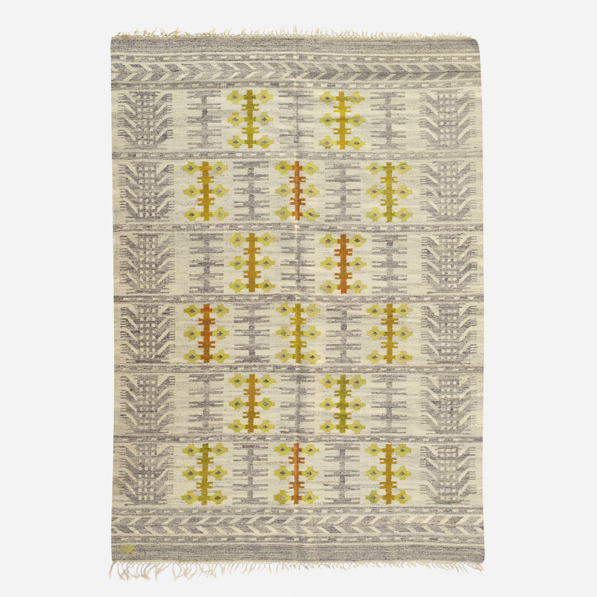 257: Swedish / flatweave carpet (1 of 2)
