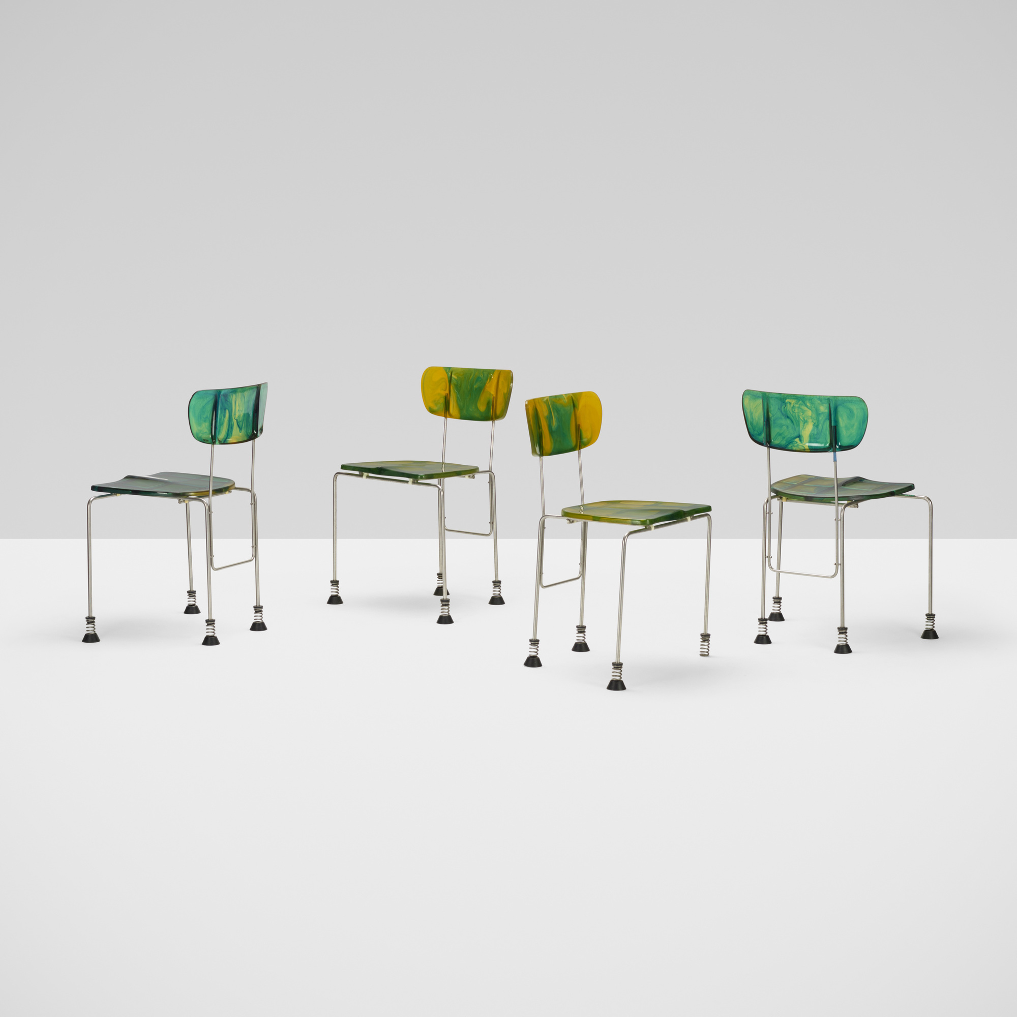 257: Gaetano Pesce / 543 Broadway chairs, set of four (2 of 5)