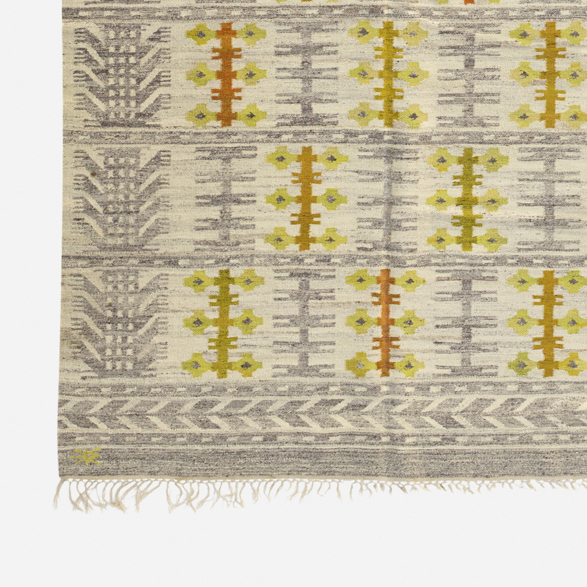 257: Swedish / flatweave carpet (2 of 2)