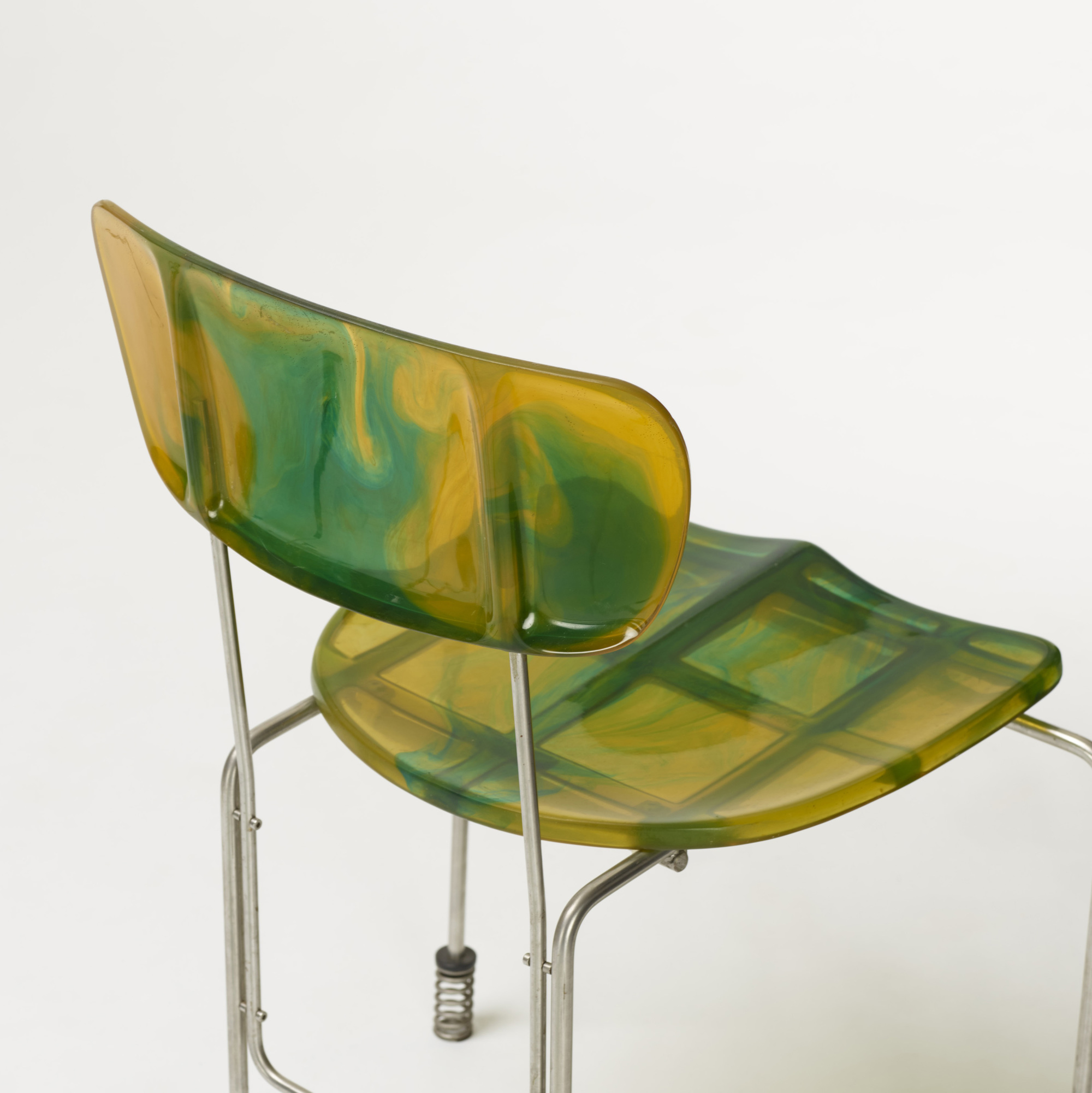 257: Gaetano Pesce / 543 Broadway chairs, set of four (4 of 5)