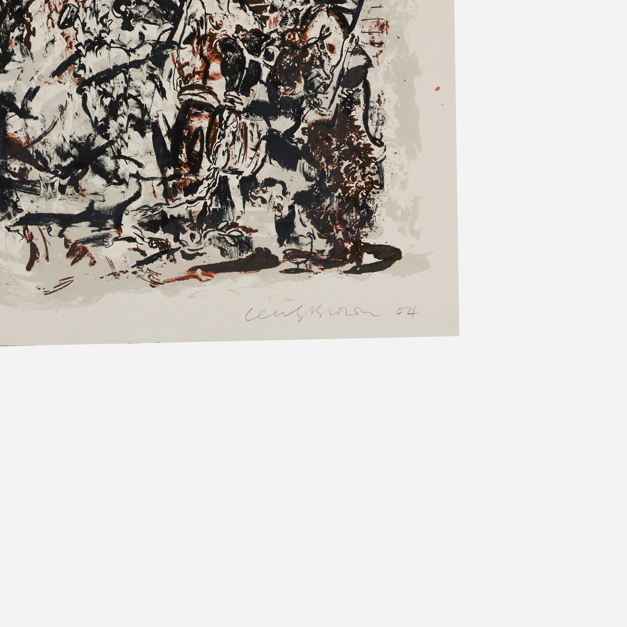 258: Cecily Brown / Study after an Election by William Hogarth (2 of 2)