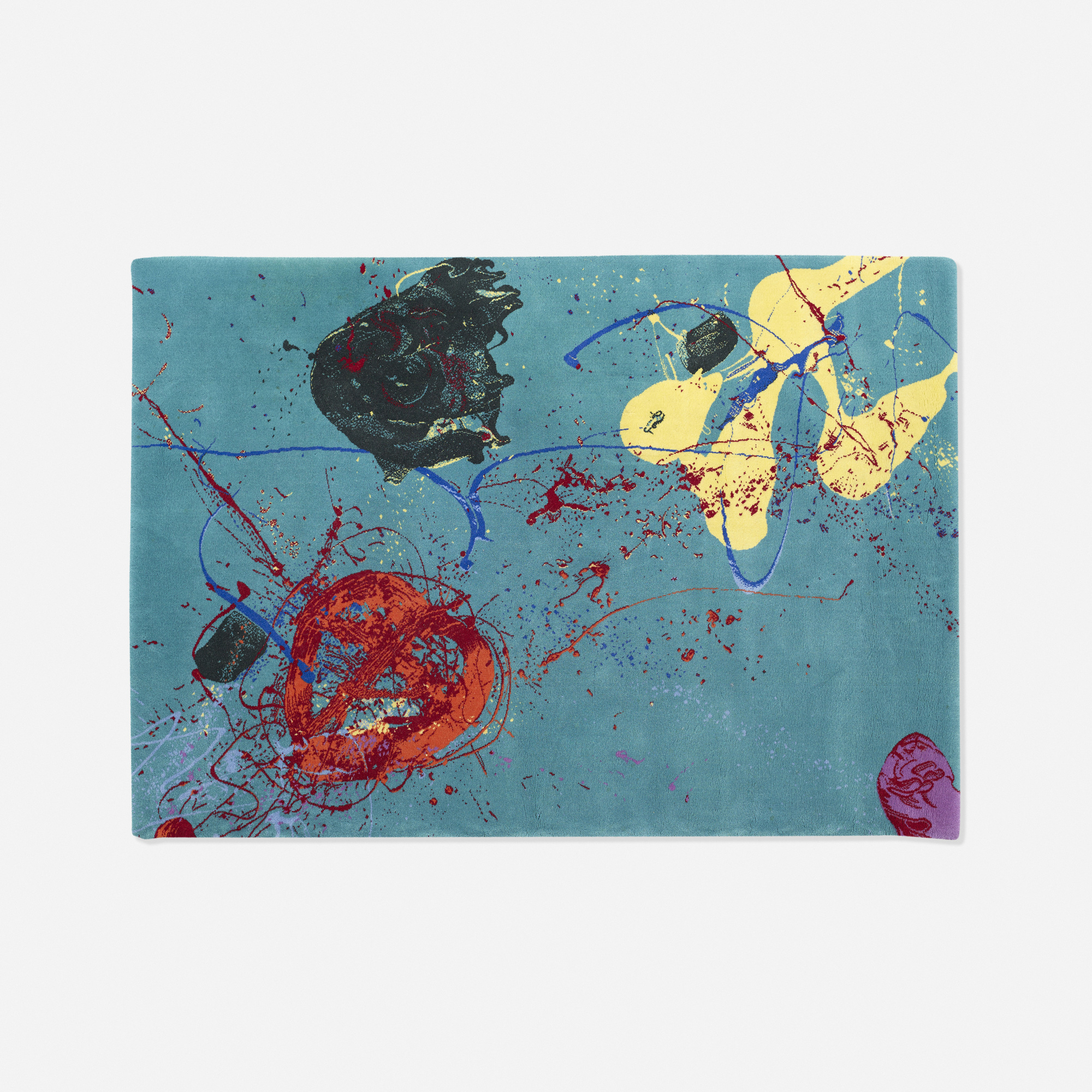 259: Sam Francis / carpet for Arterior Collection (1 of 1)
