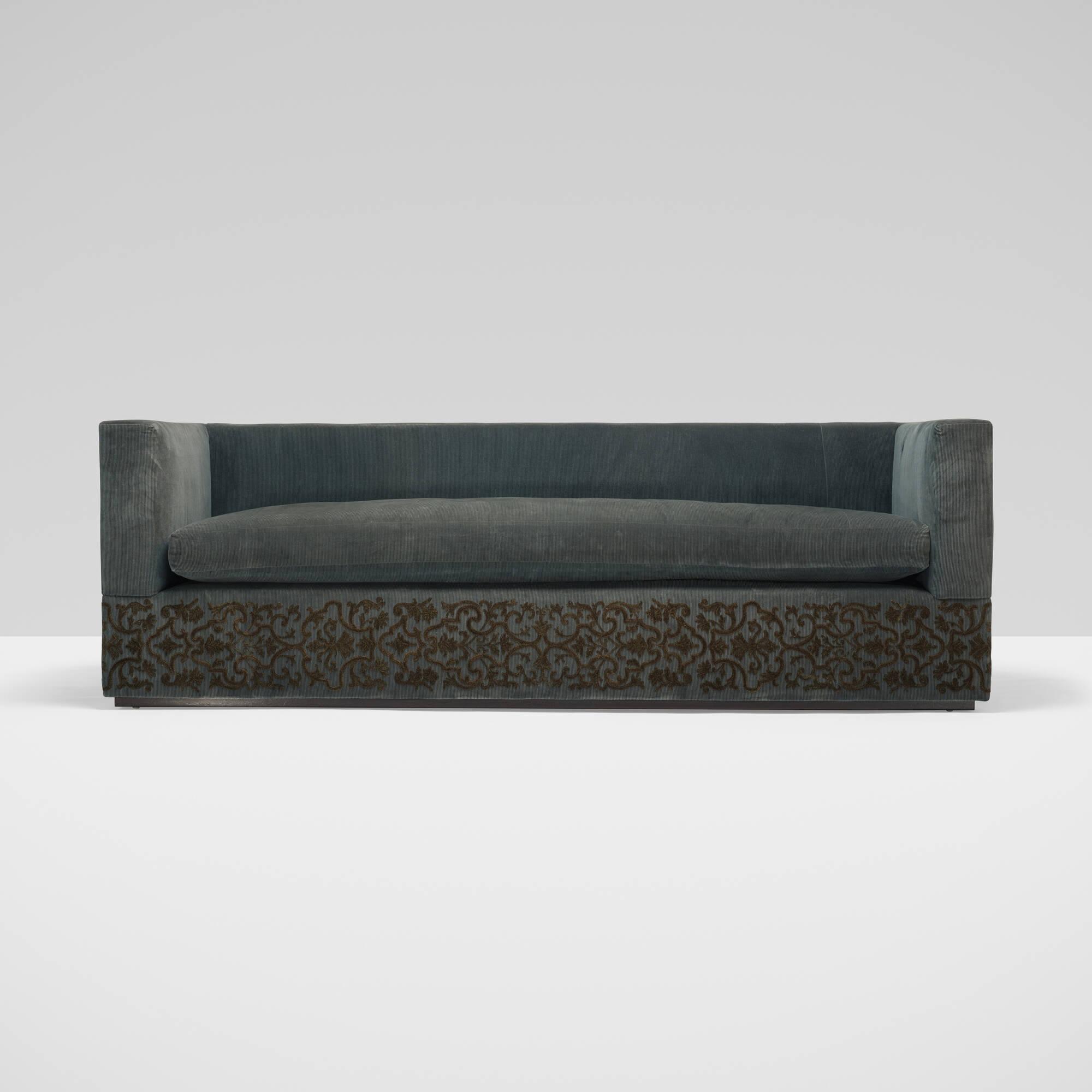 259: Muriel Brandolini / custom Gwathmey sofa (2 of 2)