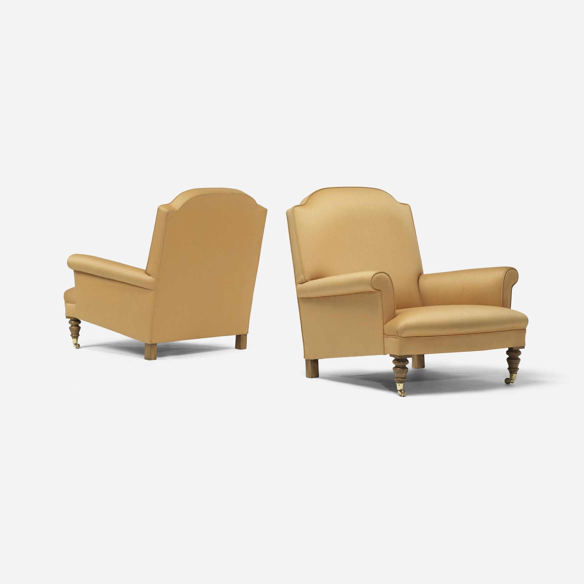 259: Bridgewater / lounge chairs, pair (1 of 3)