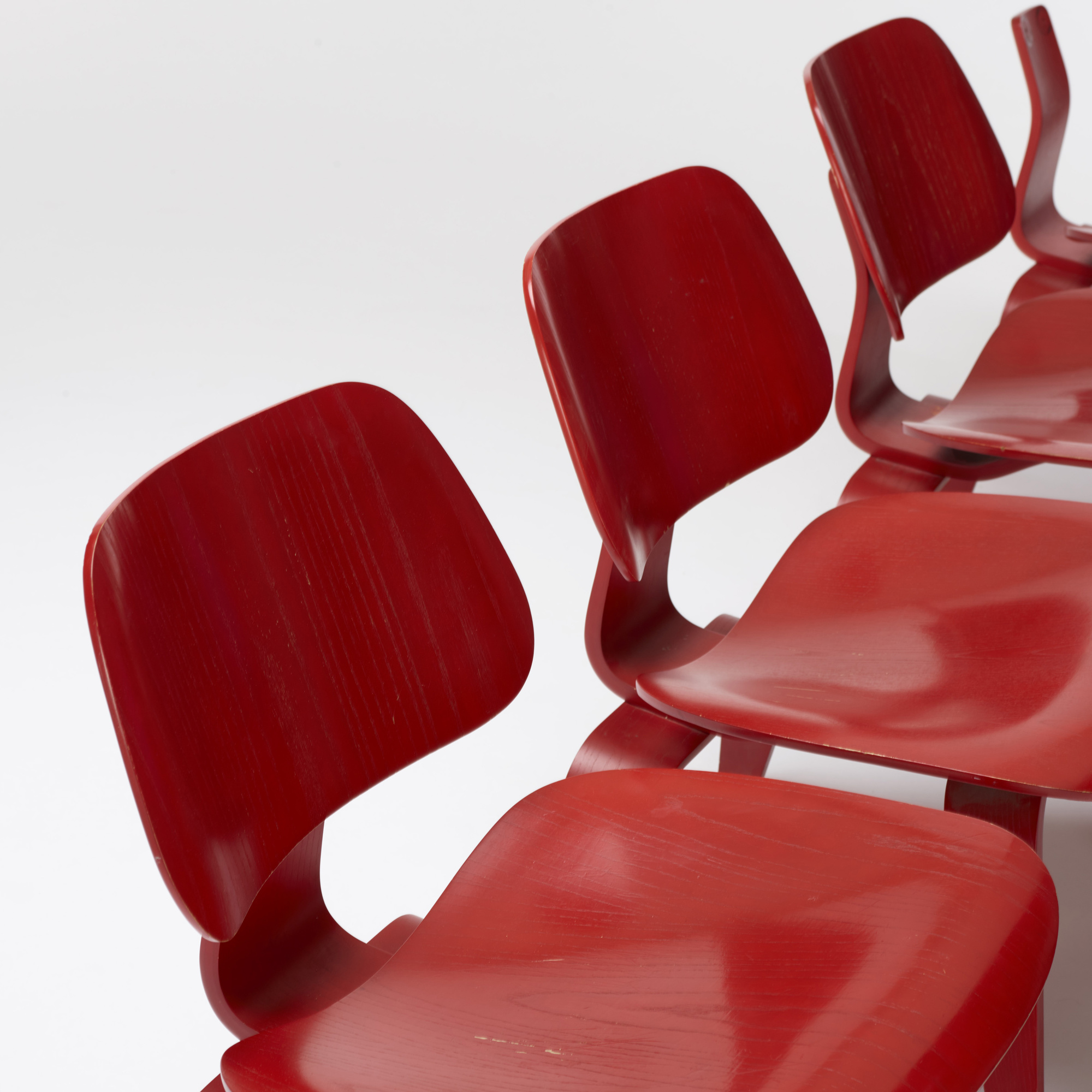 259: Charles and Ray Eames / LCWs, set of ten (2 of 3)