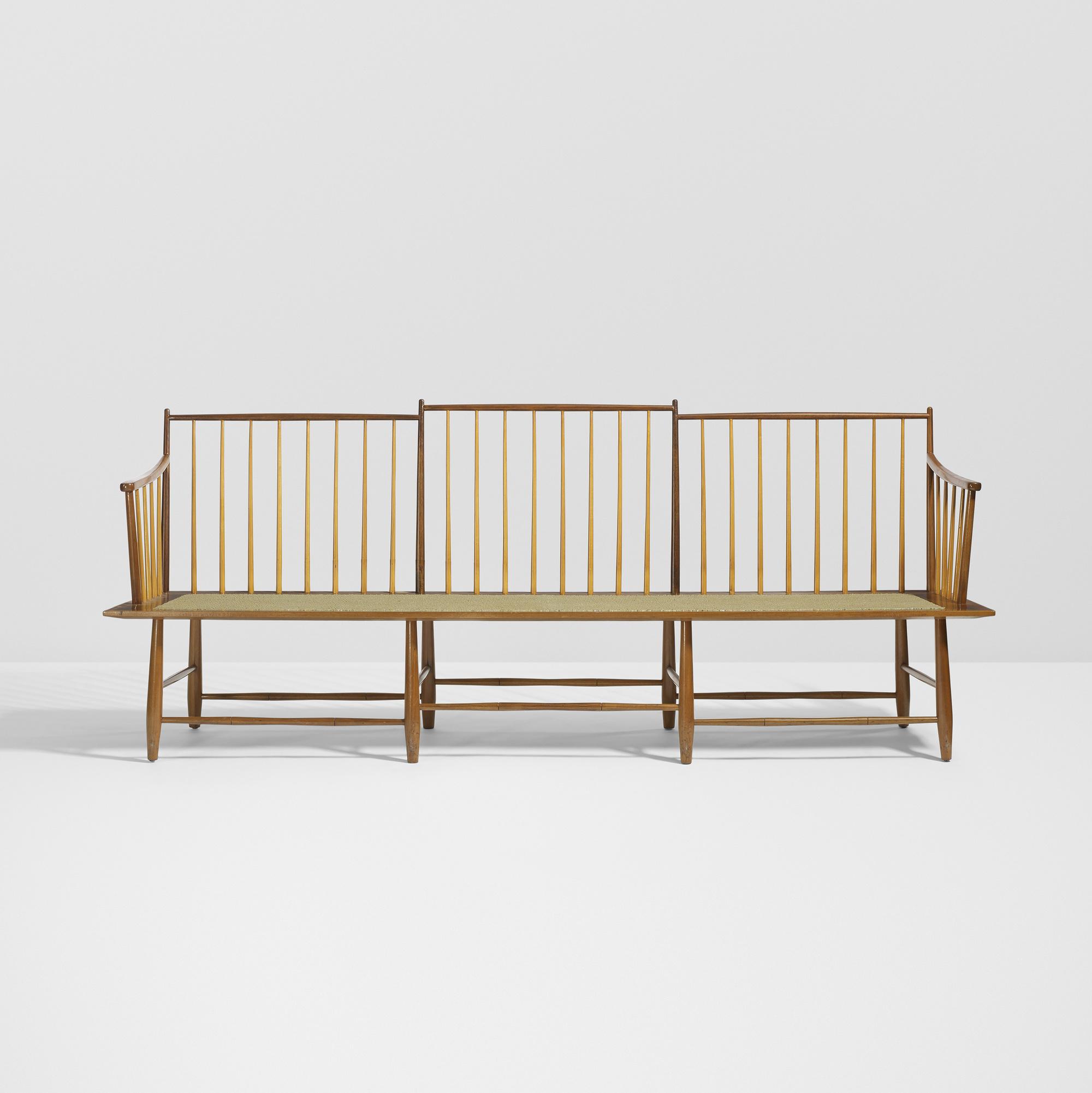 25 Edward Wormley Rare Bench Model 4871 1 Of 3