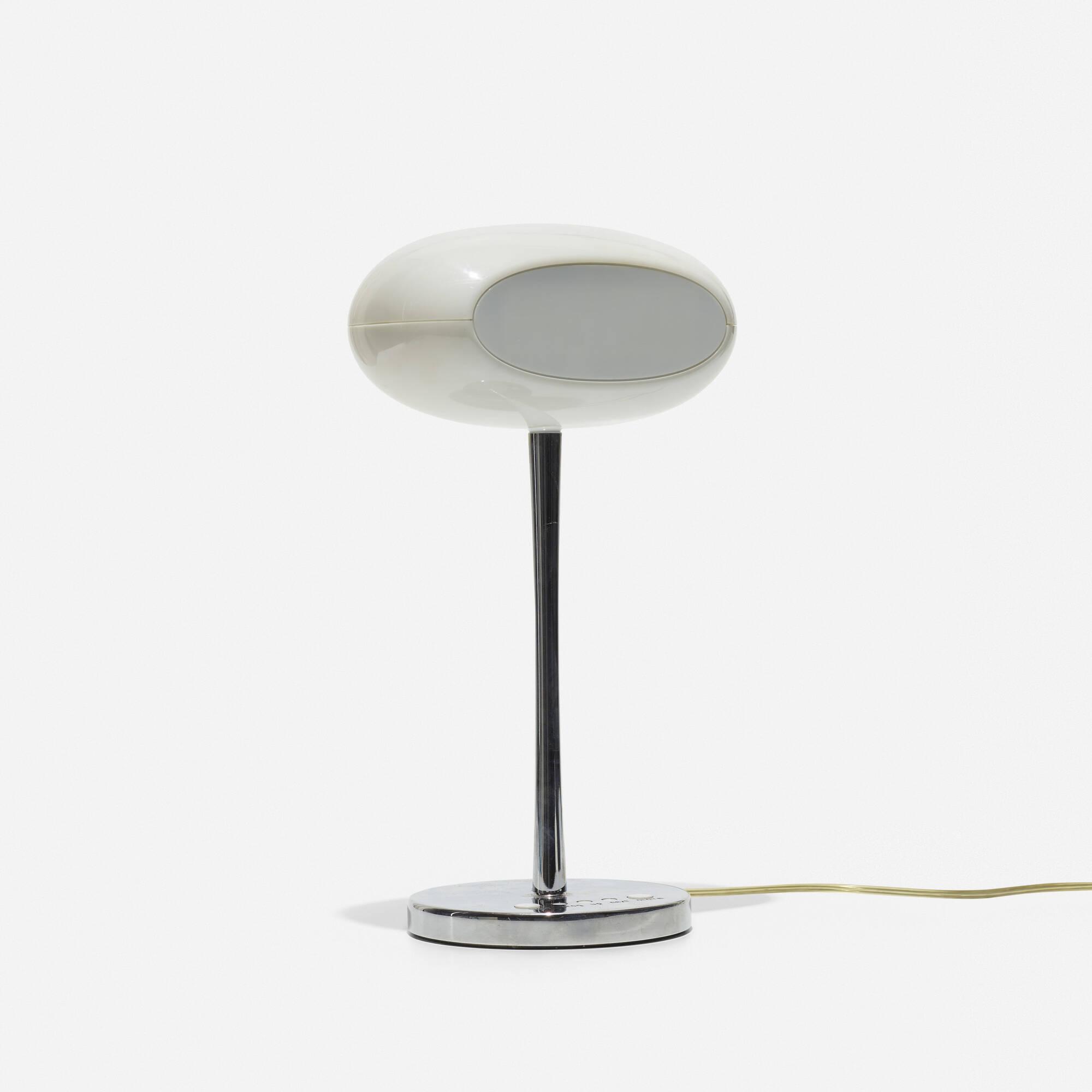 260: Karim Rashid / Time and Space clock lamp (1 of 2)
