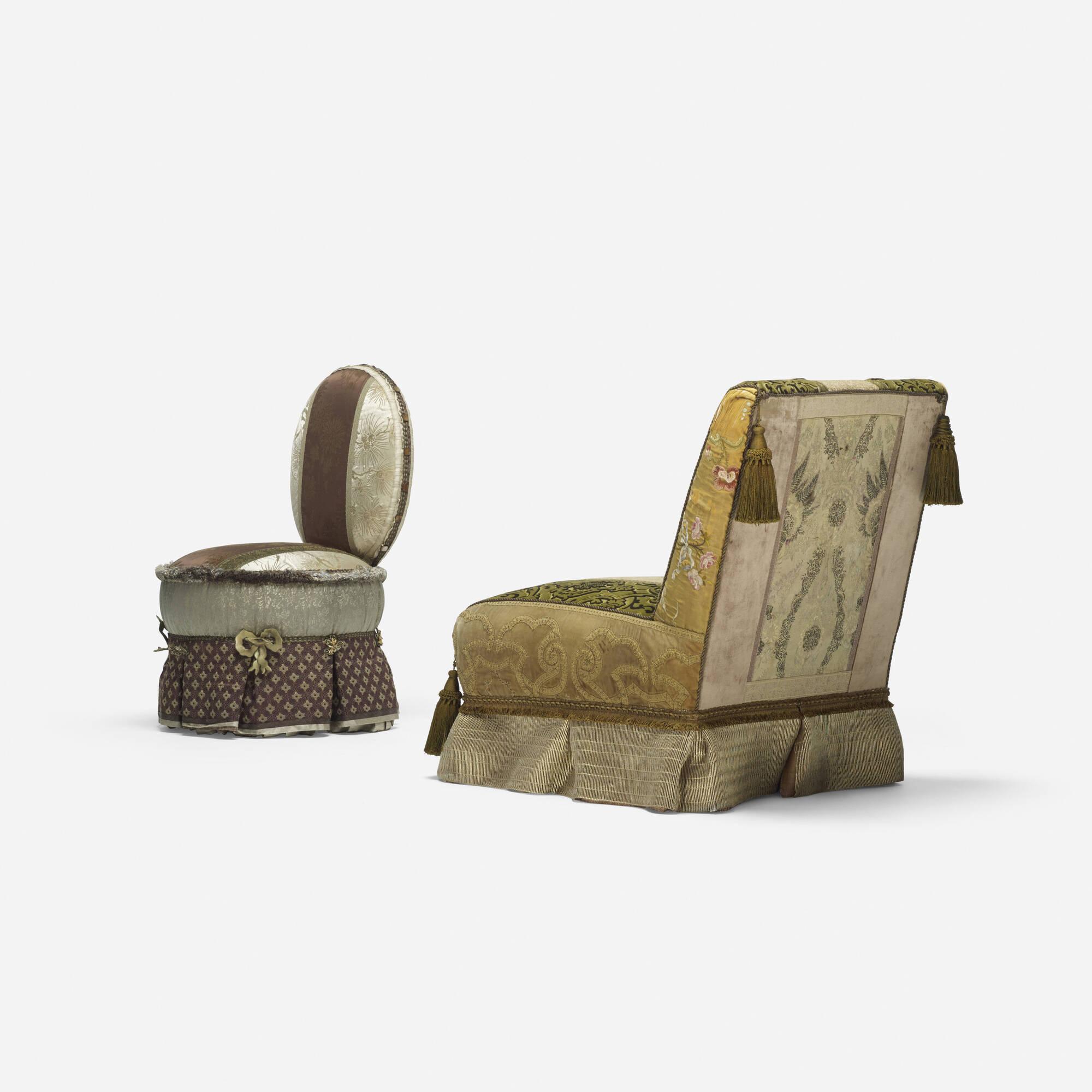 261: Muriel Brandolini / pair of lounge chairs (2 of 3)