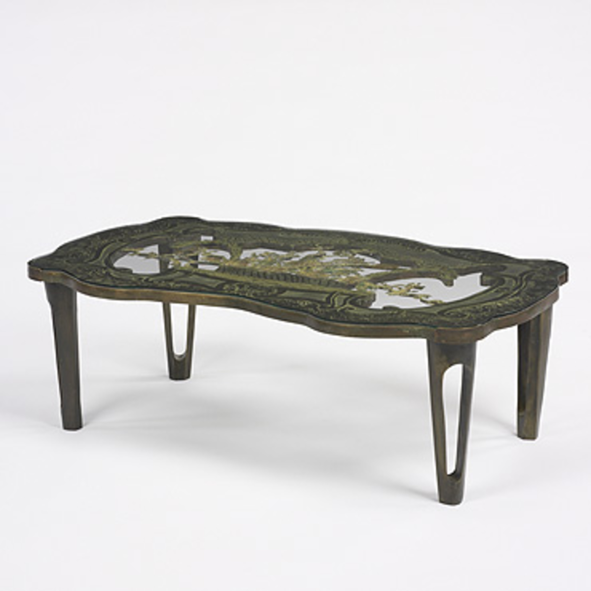 Philip Laverne Coffee Table.262 Philip And Kelvin Laverne Coffee Table Important 20th