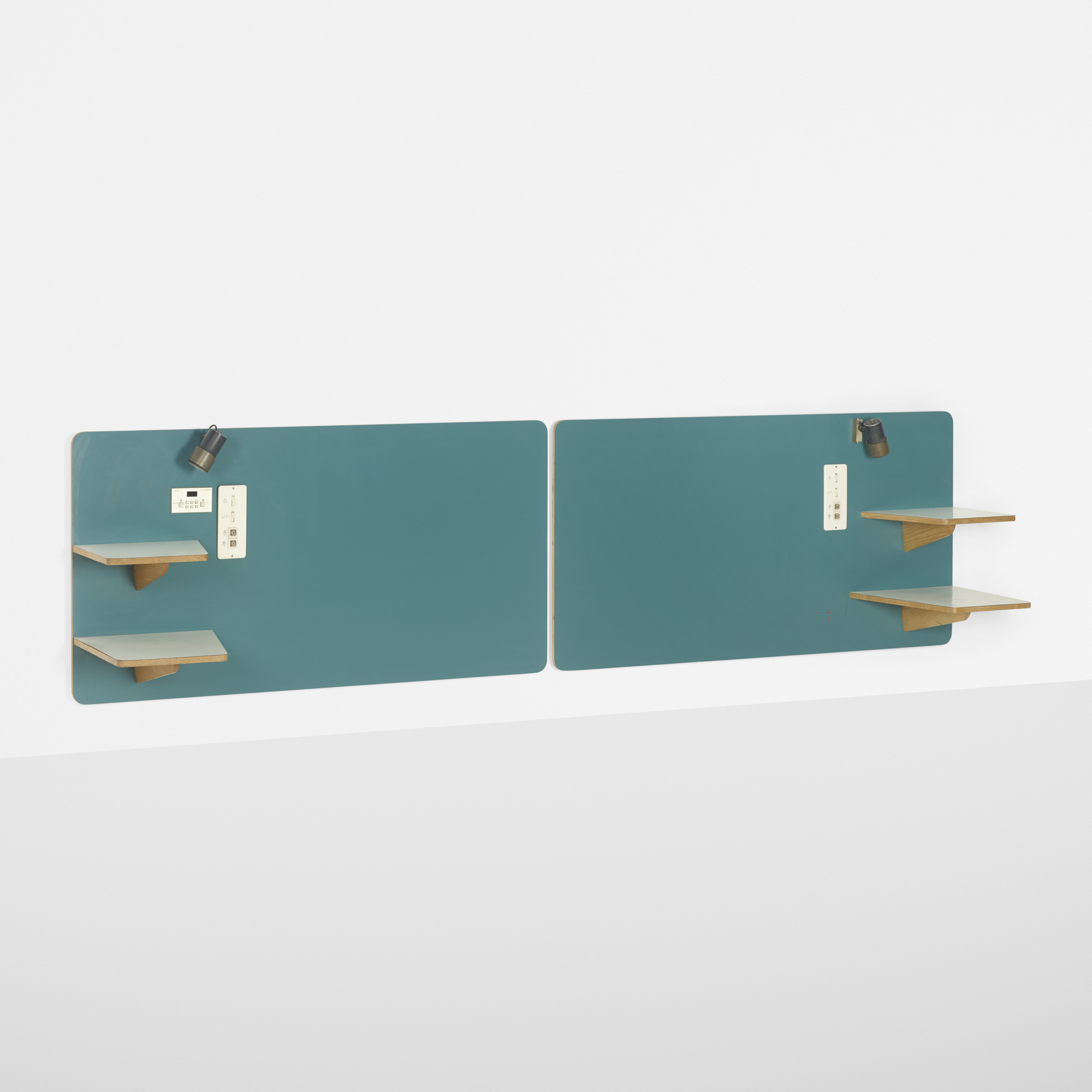 262: Gio Ponti / pair of headboards from the Hotel Parco dei Principi, Rome (1 of 2)