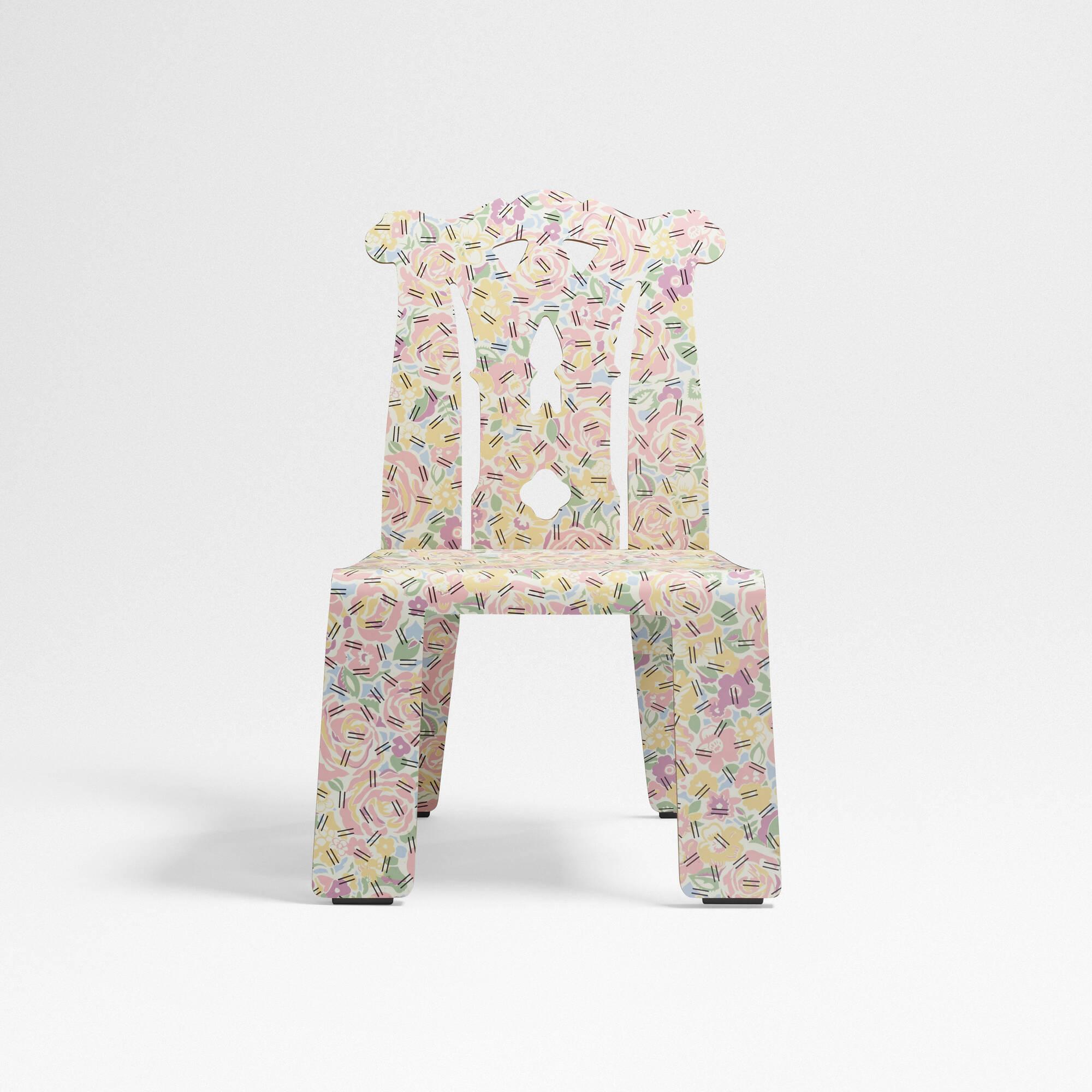 262 Robert Venturi with Denise Scott Brown / Chippendale chair (1 of 3) & 262: ROBERT VENTURI WITH DENISE SCOTT BROWN Chippendale chair ...