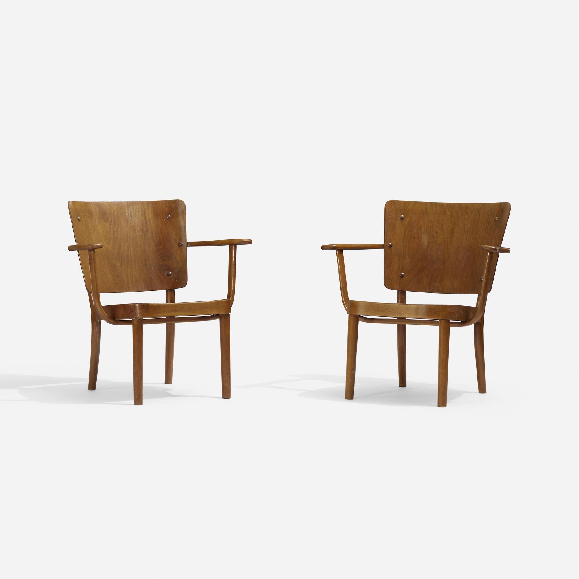 262: Søren Hansen / armchairs, pair (1 of 3)