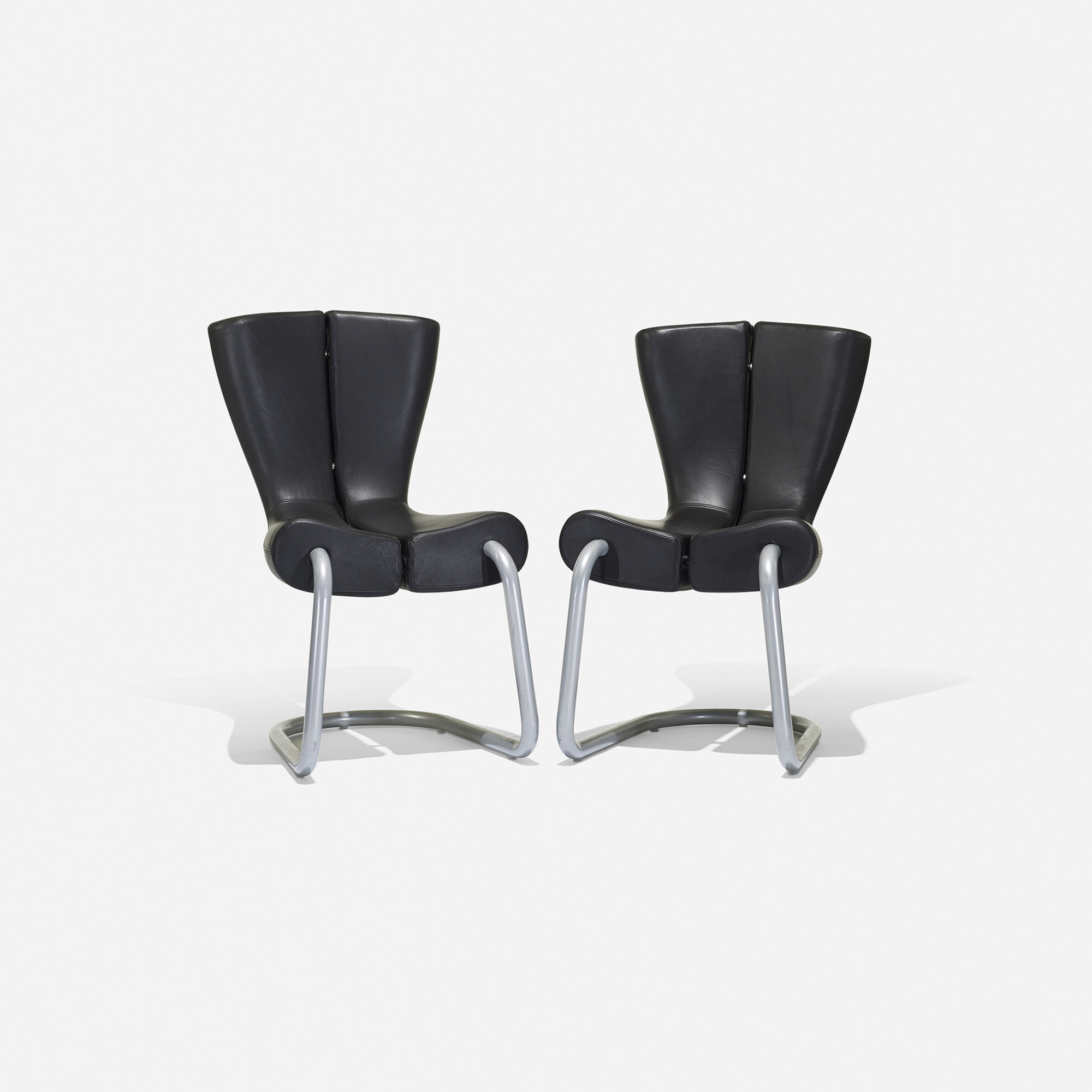 ... 262: Marc Newson / Komed Chairs, Pair (2 Of 3)