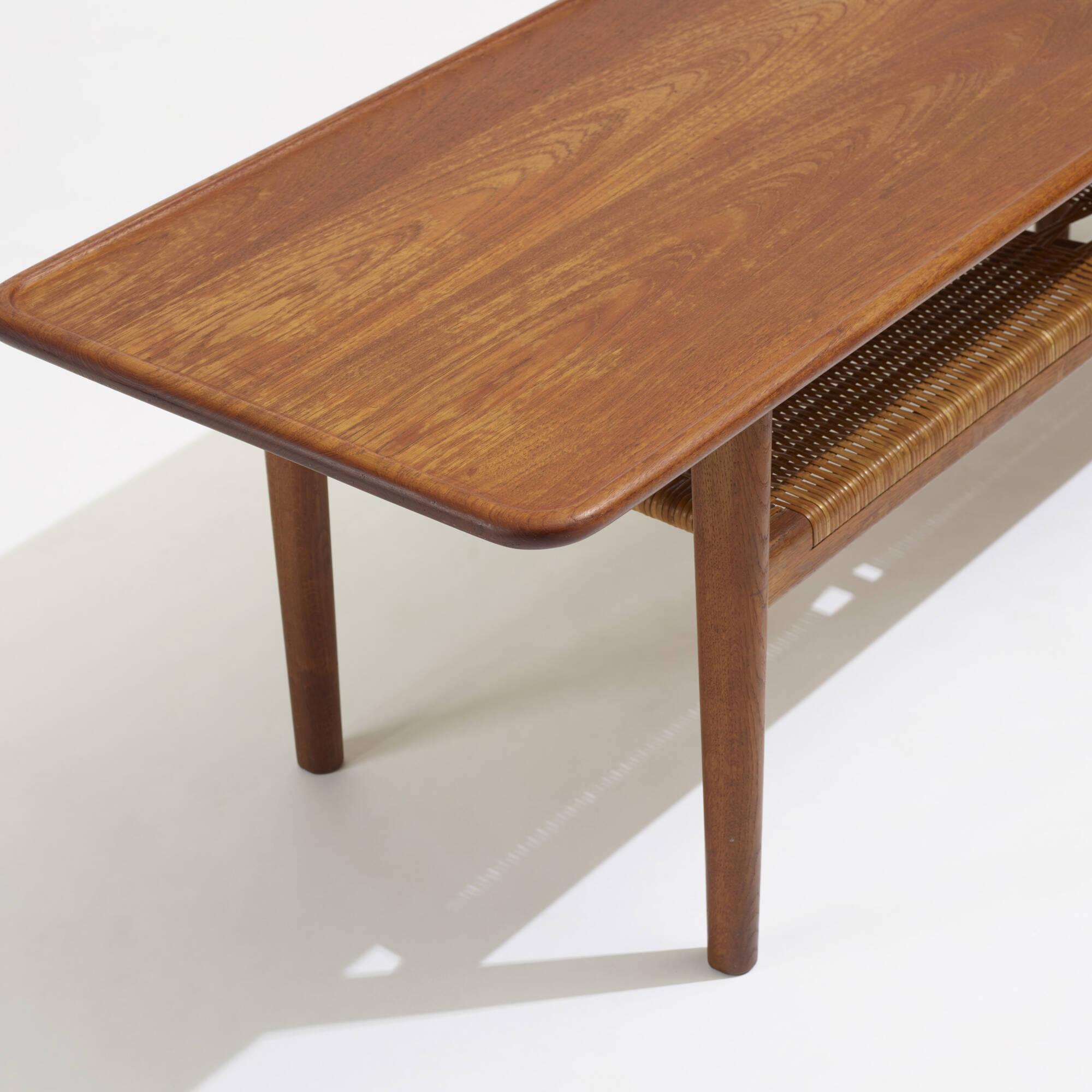 263 Hans J Wegner coffee table model AT 10 Scandinavian