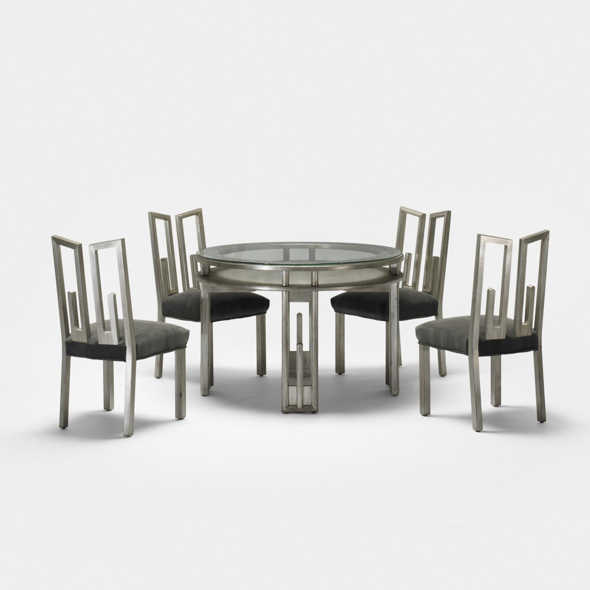 264 James Mont Game Table And Chairs Living Contemporary 26