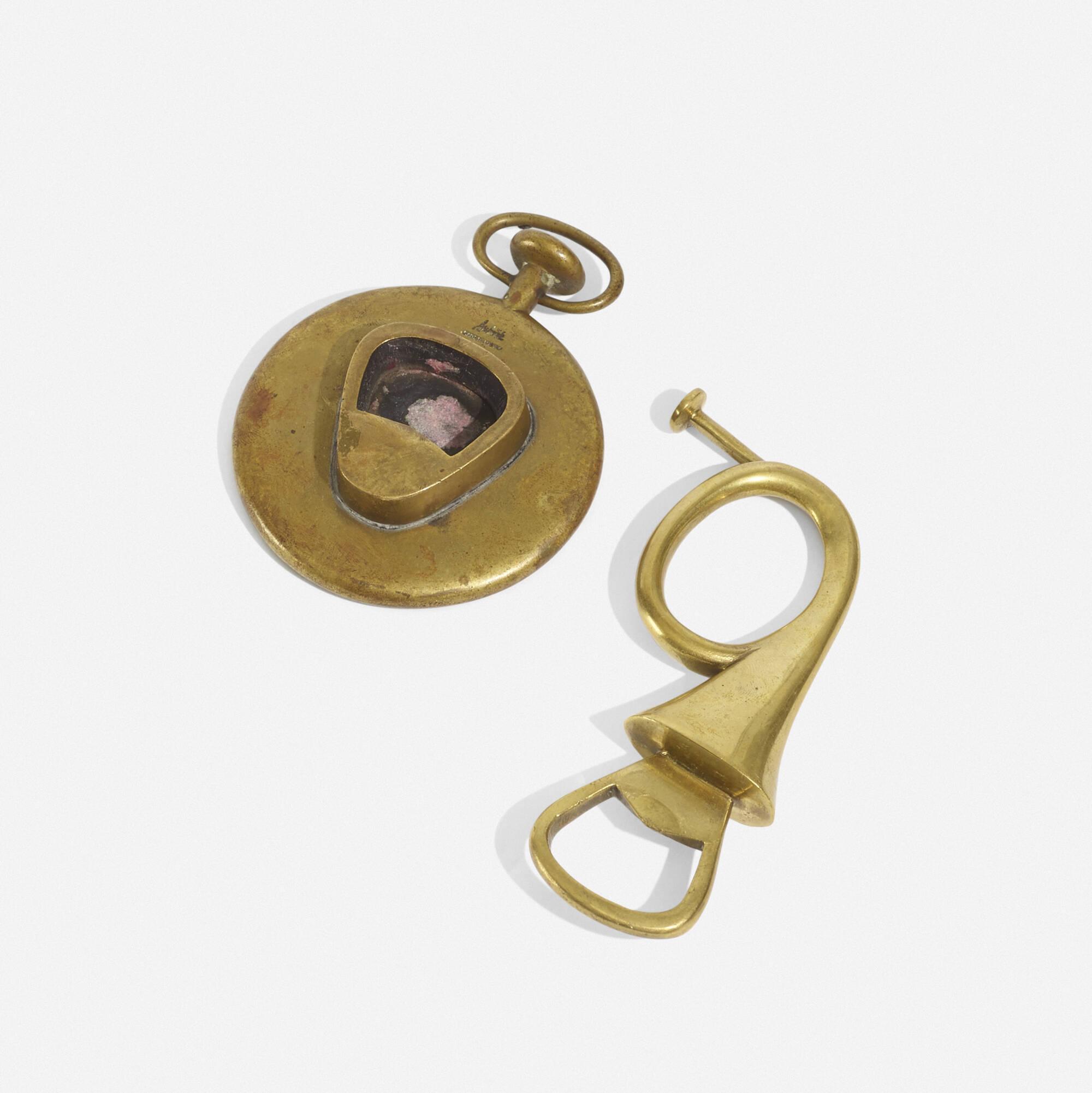264: Carl Auböck II / bottle openers, pair (1 of 2)