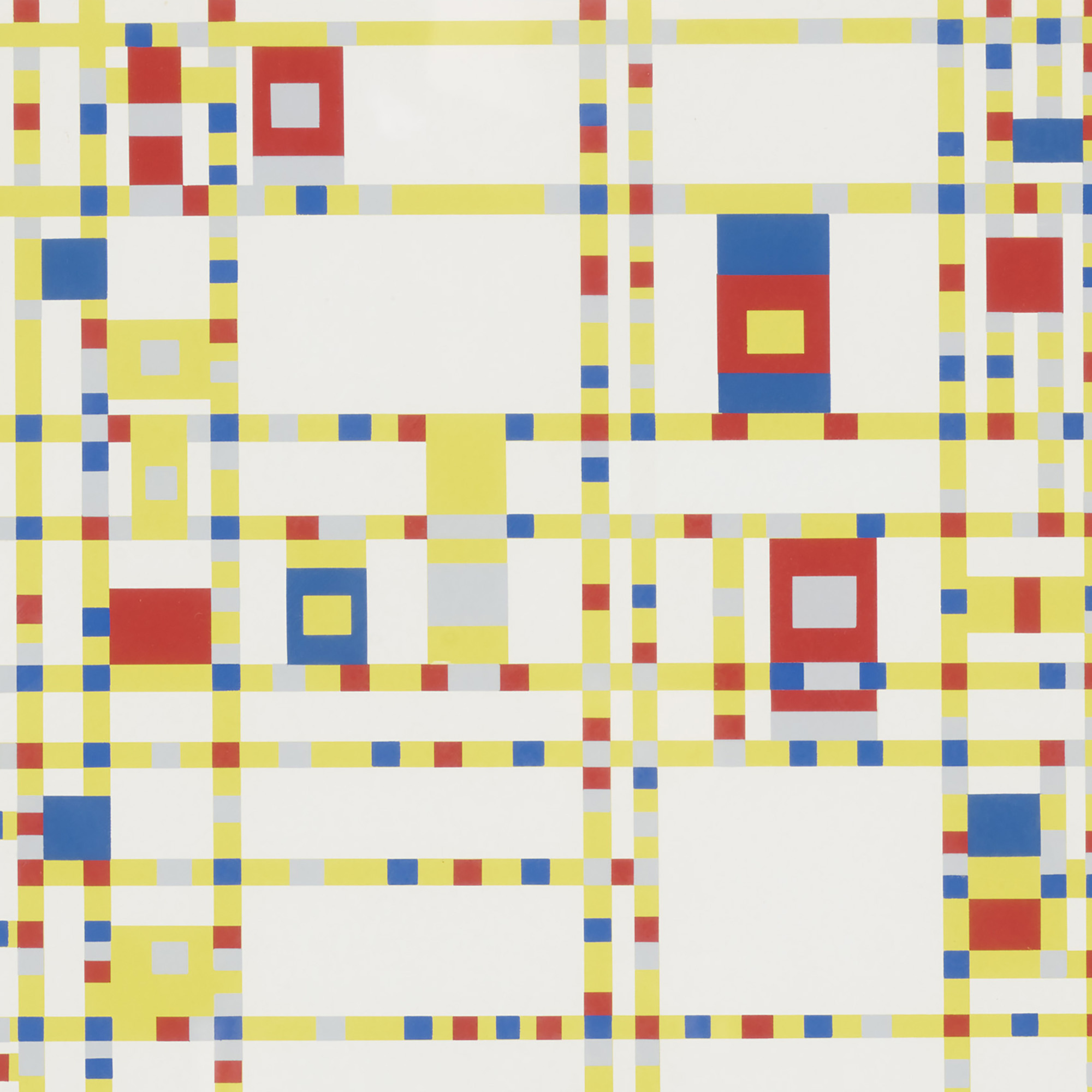 264: AFTER PIET MONDRIAN, Broadway Boogie-Woogie < Florsheim ...