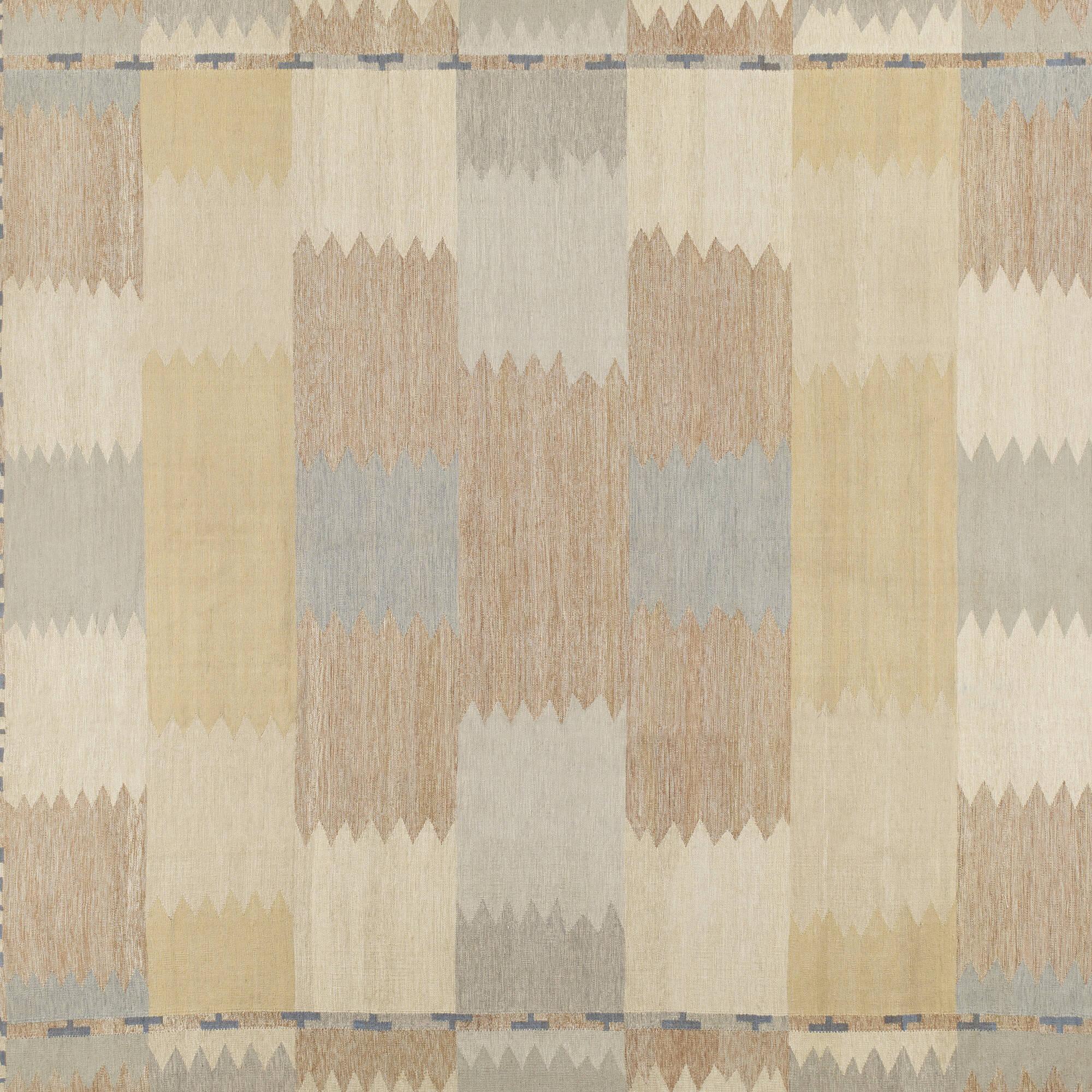 264: Swedish / contemporary flatweave carpet (2 of 2)
