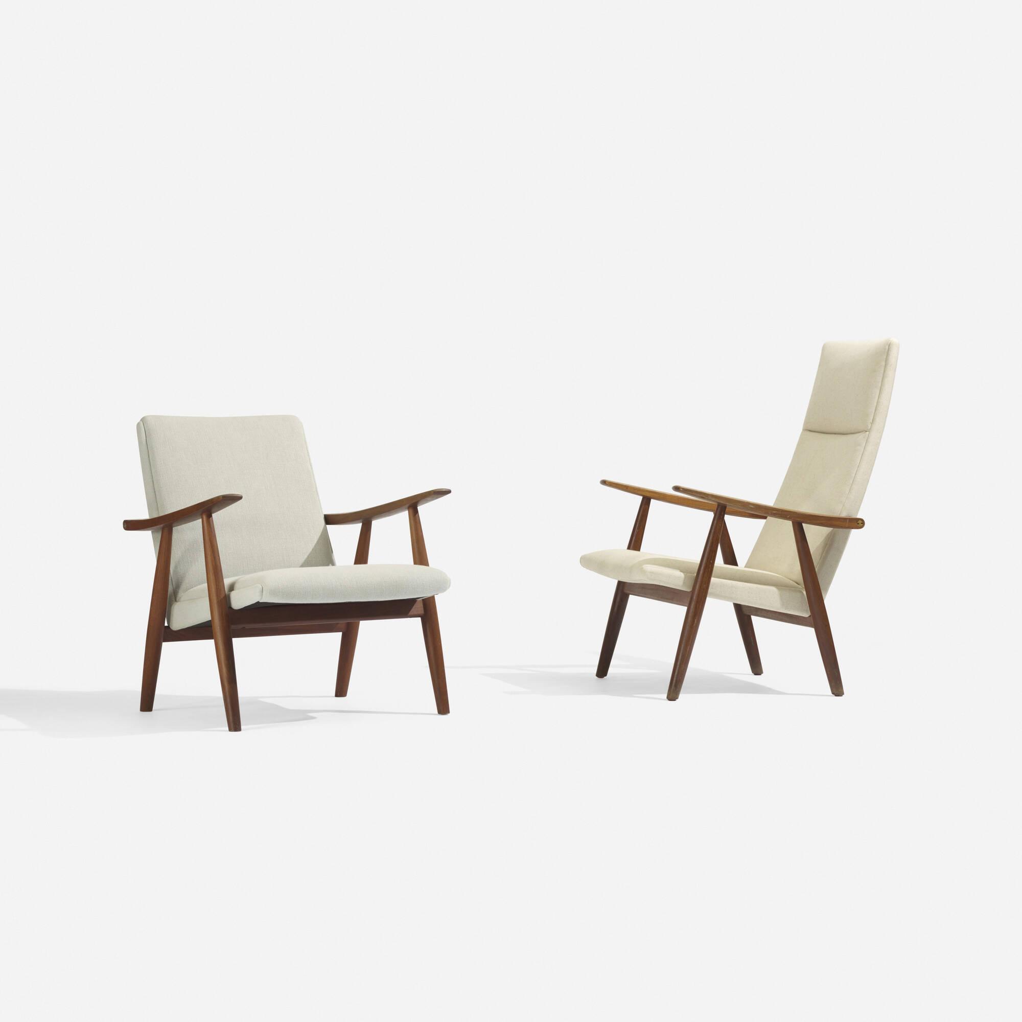 hans j wegner furniture. 264 hans j wegner lounge chair model ge260 and furniture